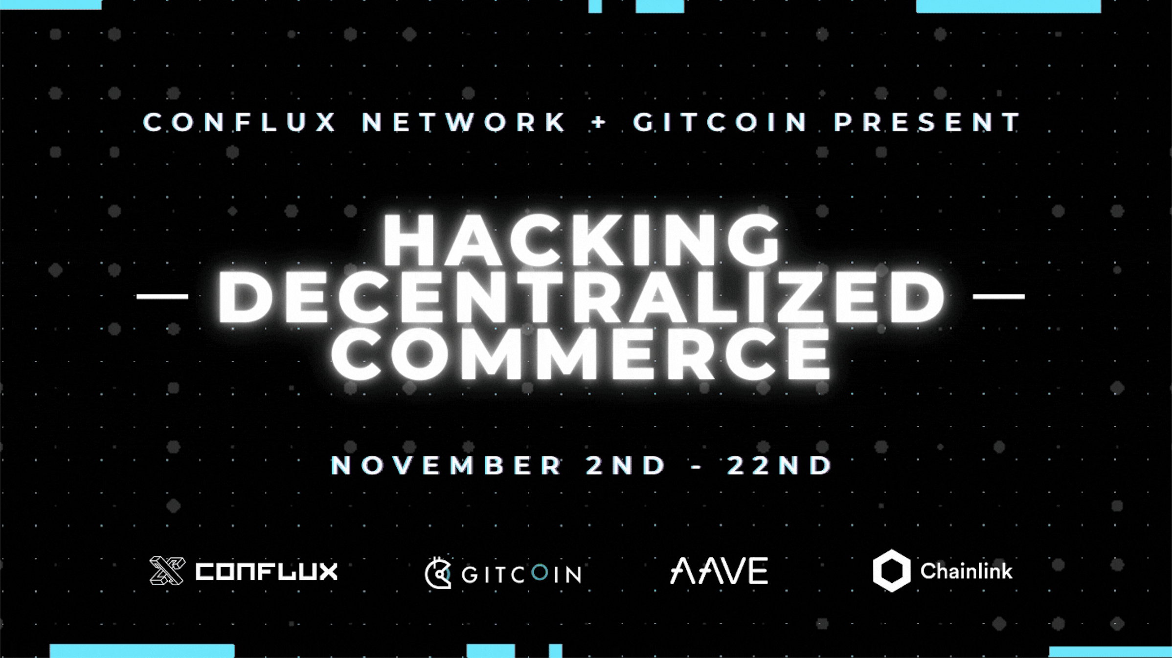 Hacking Decentralized Commerce with Conflux, Gitcoin, AAVE and Chainlink