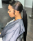 Low ponytail weave style