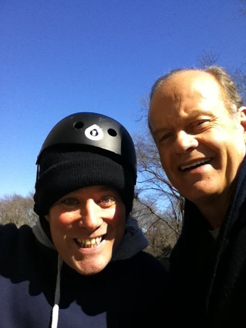 A Retarded Benjy Bronk Takes Photo With Kelsey Grammer In Central Park By Shabooty Shabooty Howard Stern Comedy Hip Hop Music
