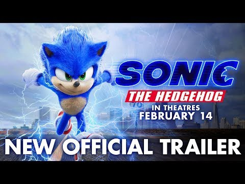 Sonic The Hedgehog 2020 Movie Trailer Character Cast Release