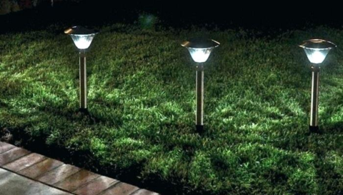 Area Pathway Lights No More Fumbling