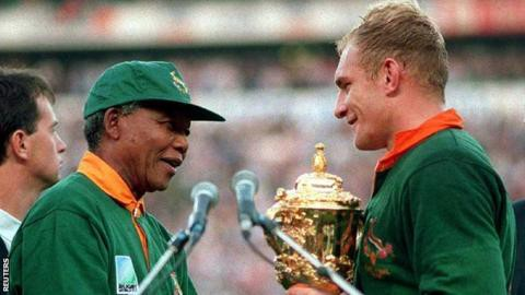 Image result for mandela rugby world cup""
