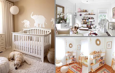 Gender Neutral Nursery Colour Schemes