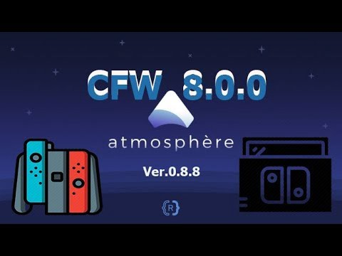 Which CFW and Flashcard work on the Nintendo Switch 8 0 0?