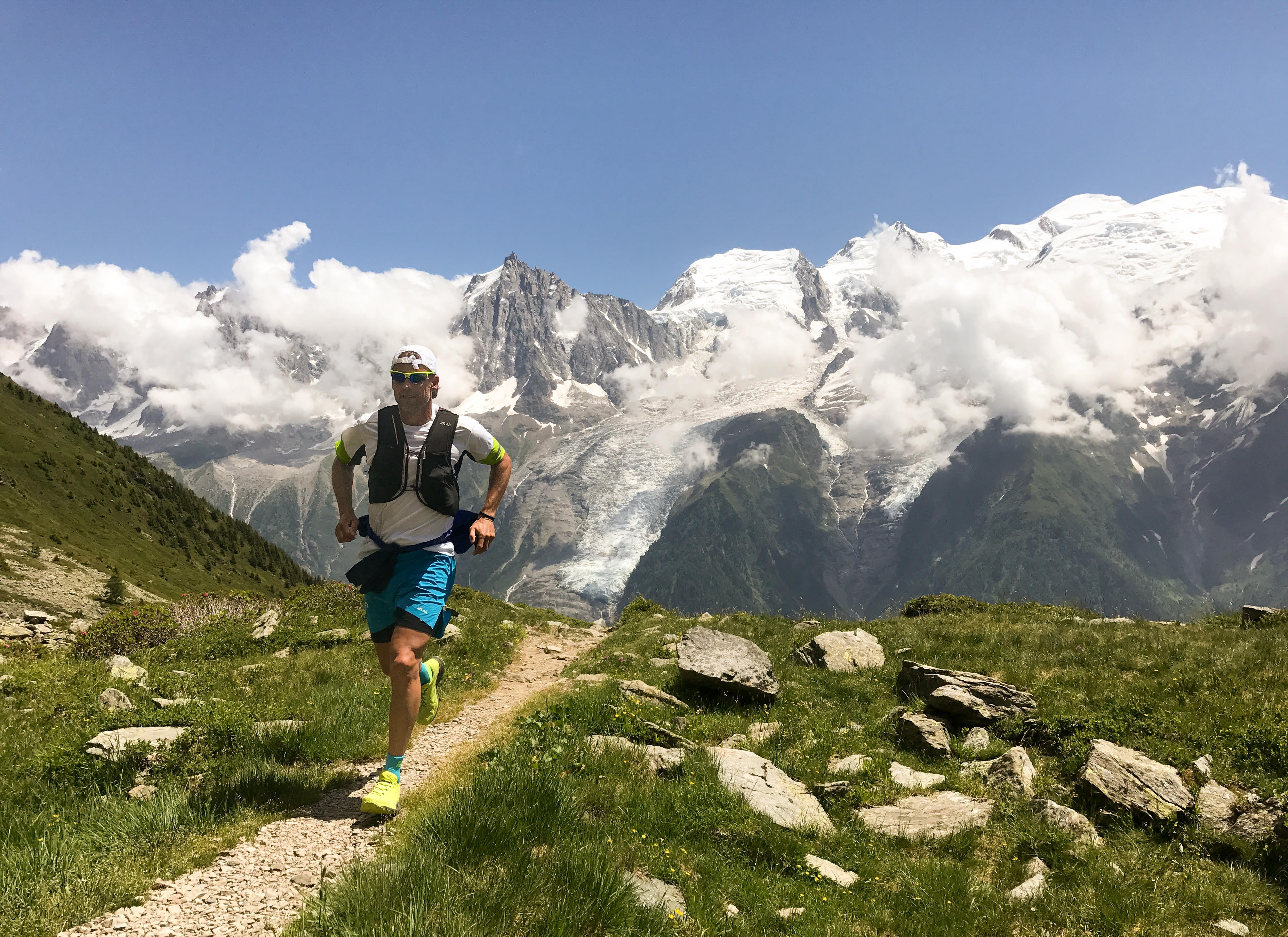 A runner in the mountains. Malky McEwan can't imagine doing that for weeks on the trot.