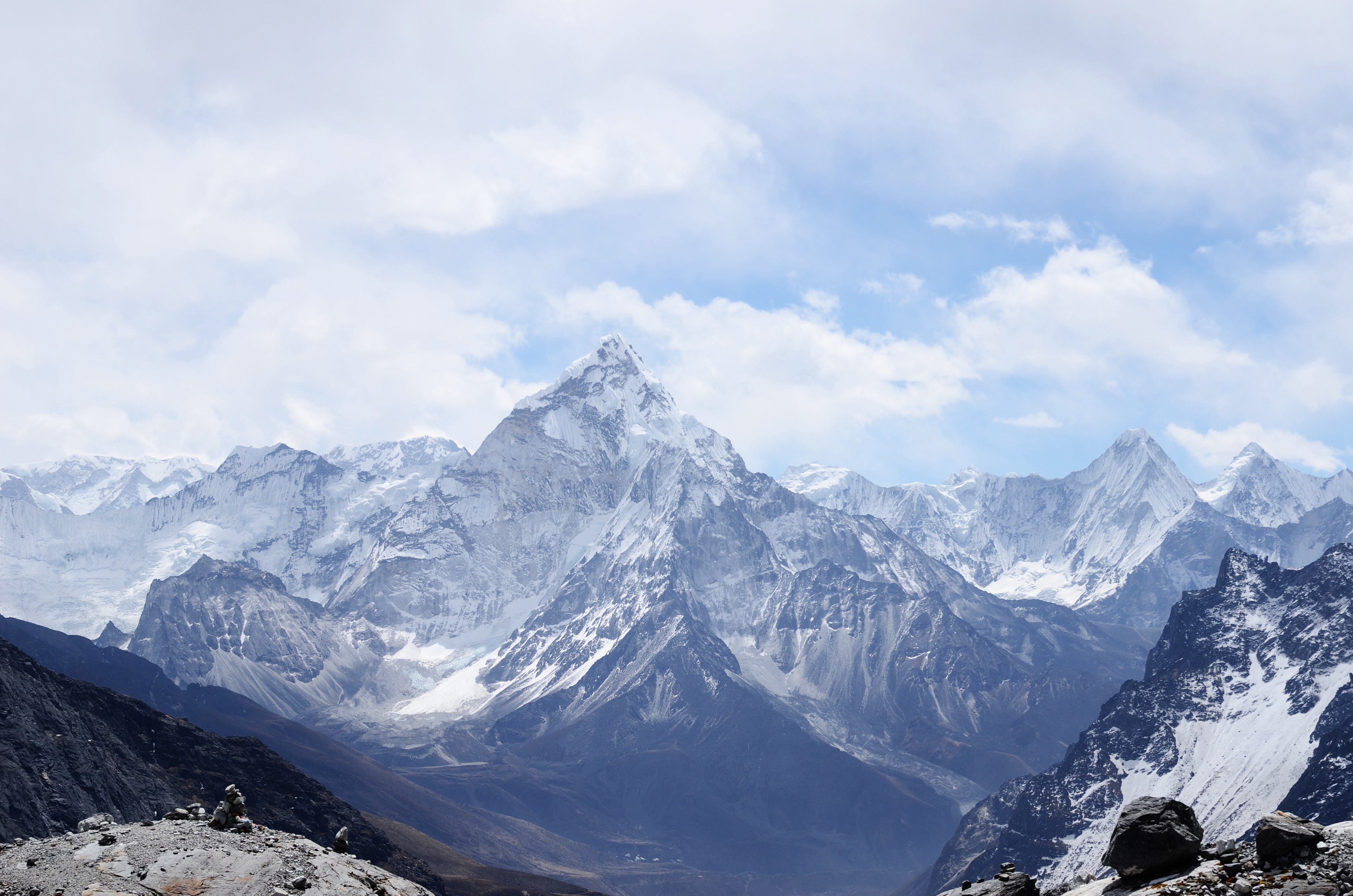 Picture of Himalayan mountain