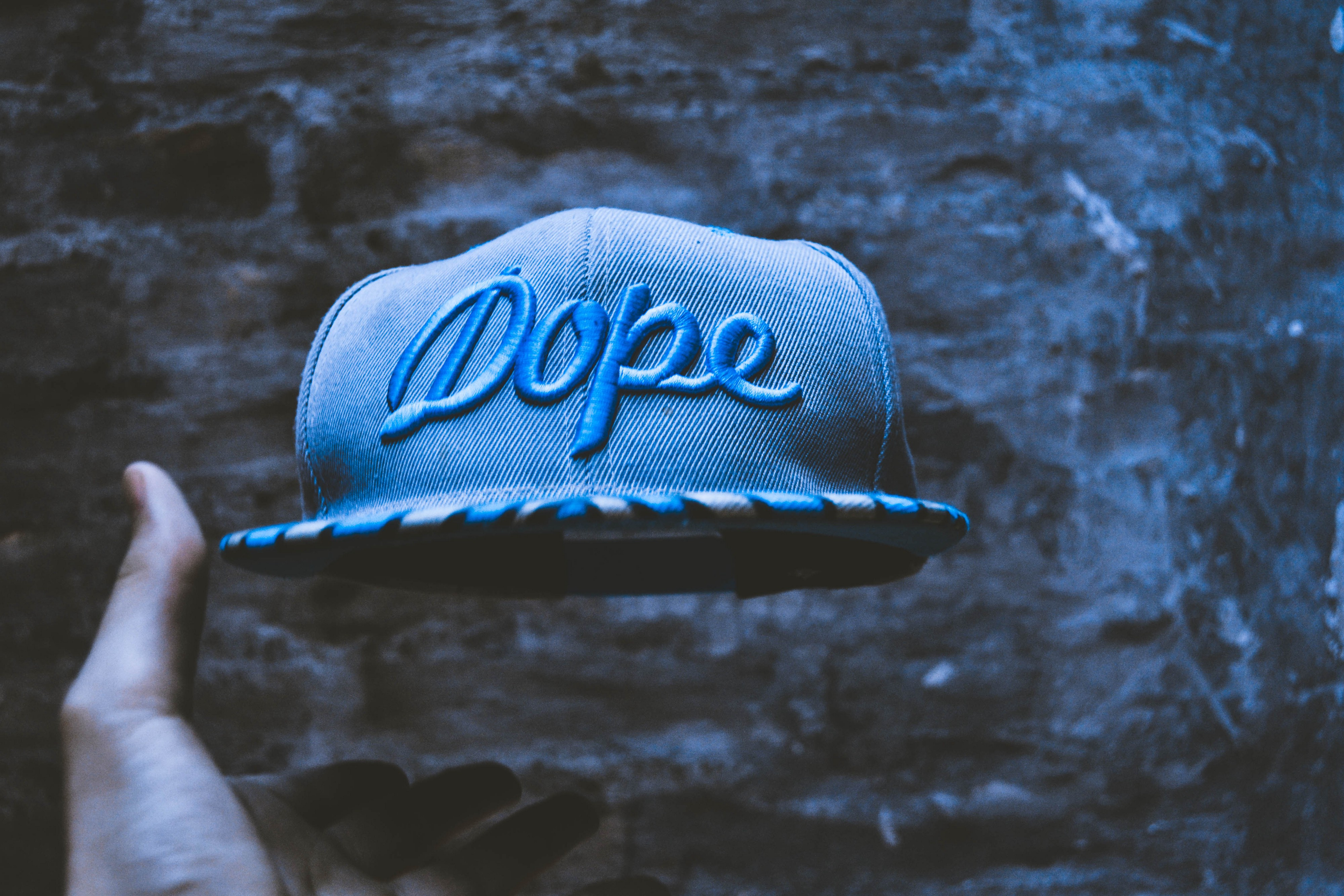 Cap with 'dope' emblem. From regular dope to no dopmaine—why are people dopmaine fasting?