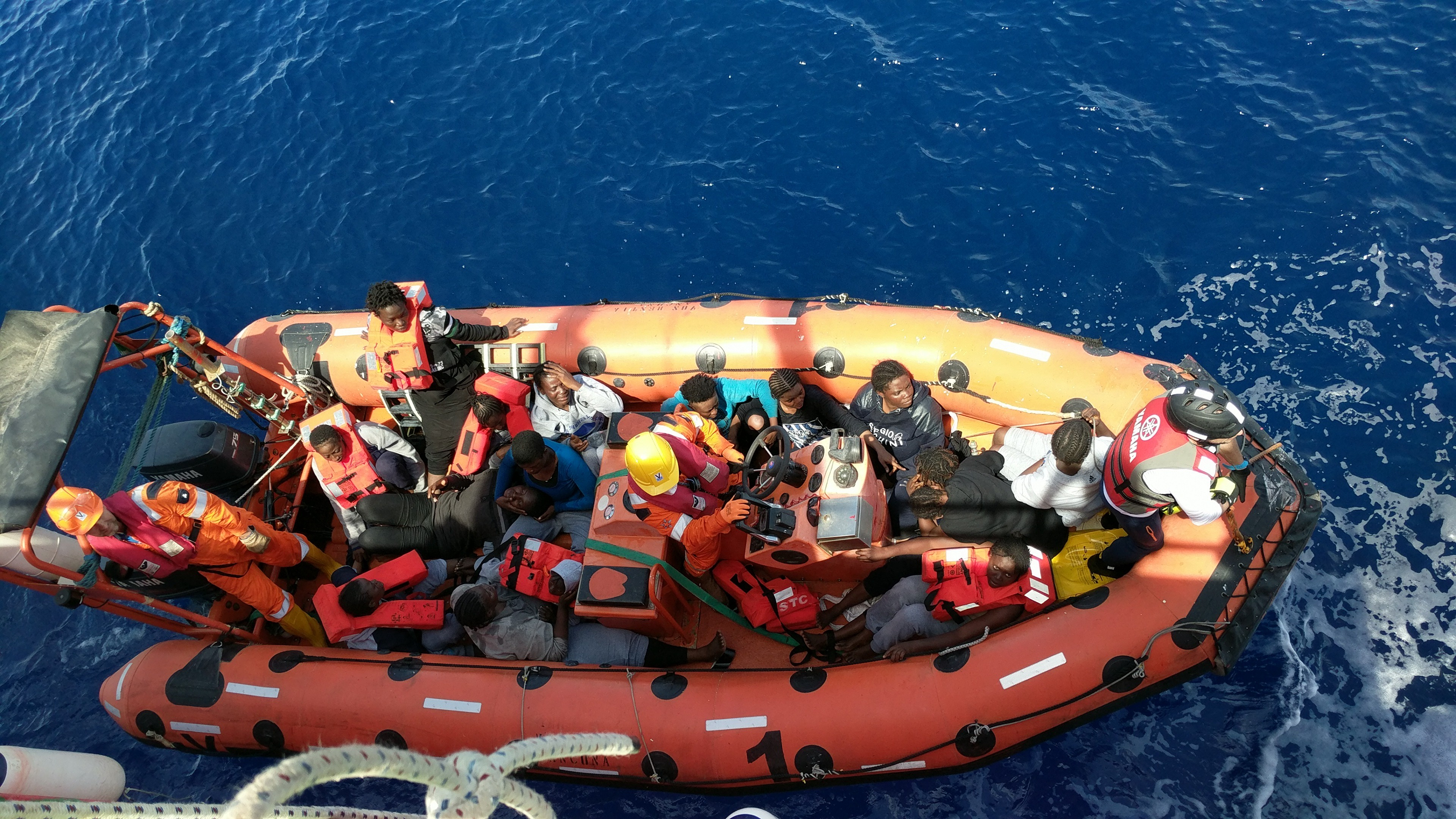 Inside Italy's plot to infiltrate migrant rescue boats in the