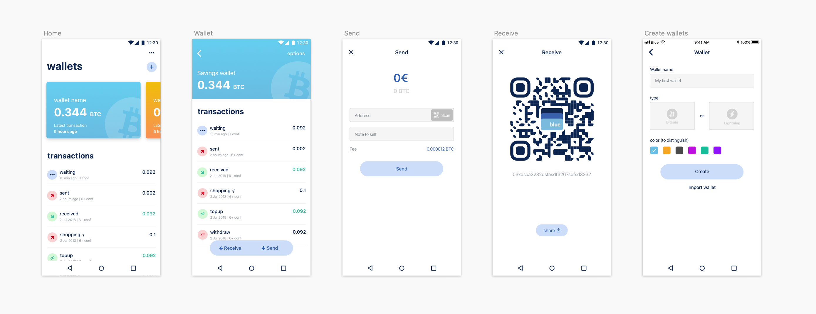 A new Bitcoin wallet for Android-Announcing Bluewallet