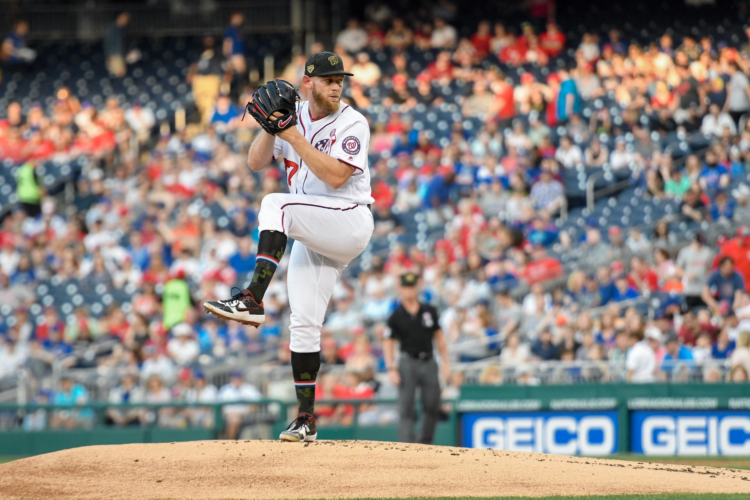 the latest efdef 7b28f Nationals kick off series against Atlanta Braves - Curly W Live