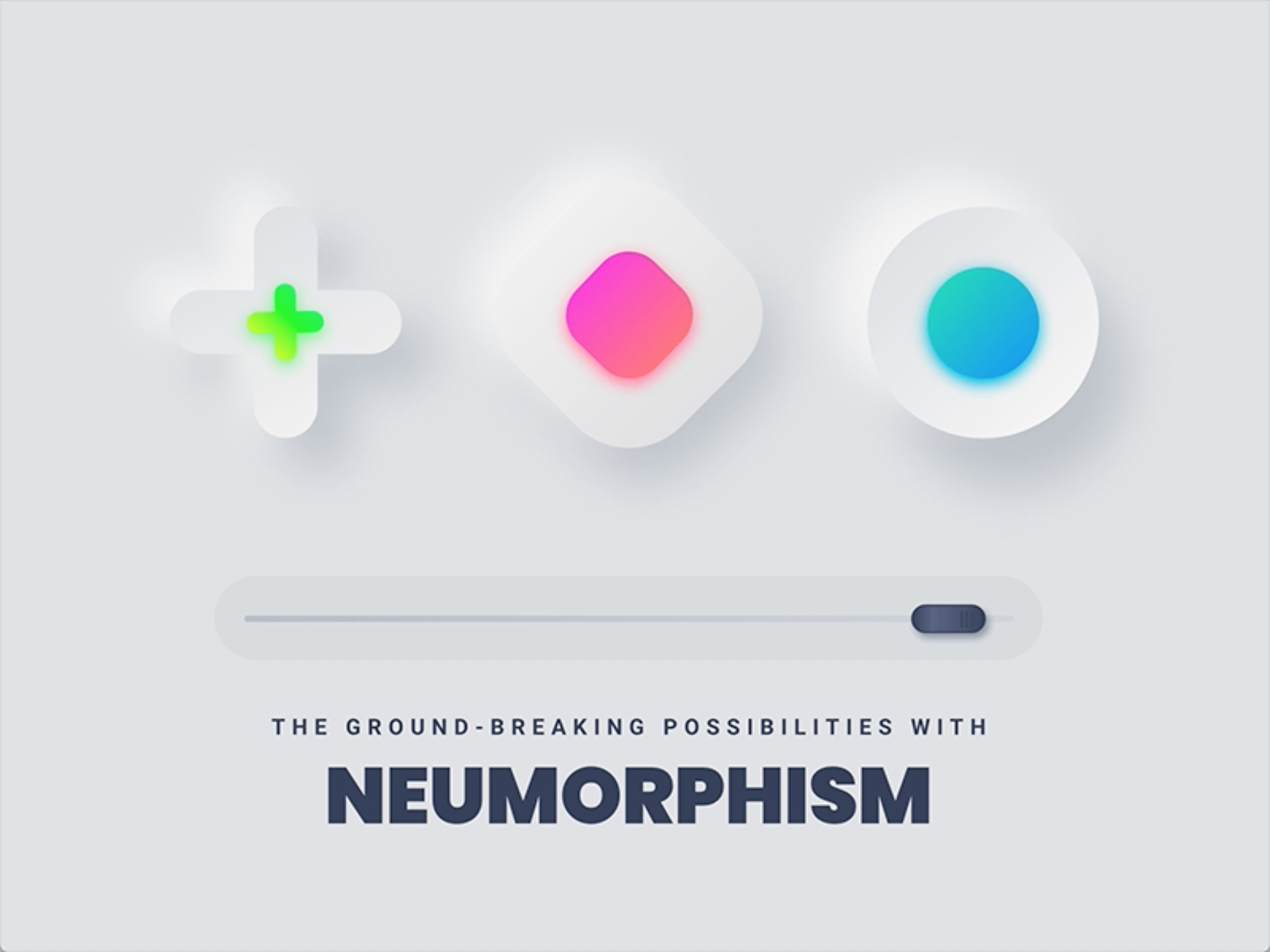 The Ground Breaking Possibilities With Neumorphism By Design Studio Ux Planet