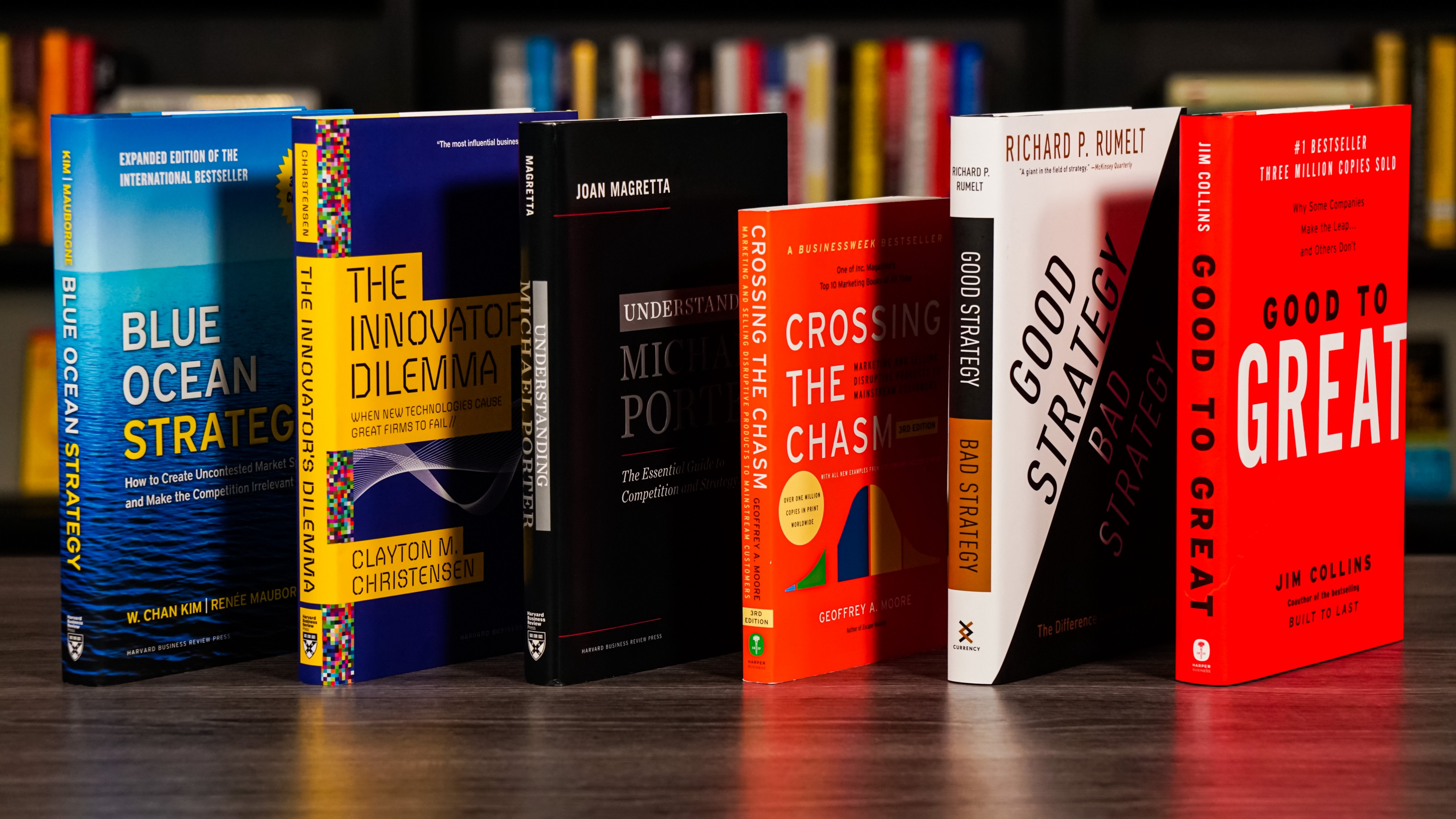 The 6 Best Business Strategy Books To Read In 2021