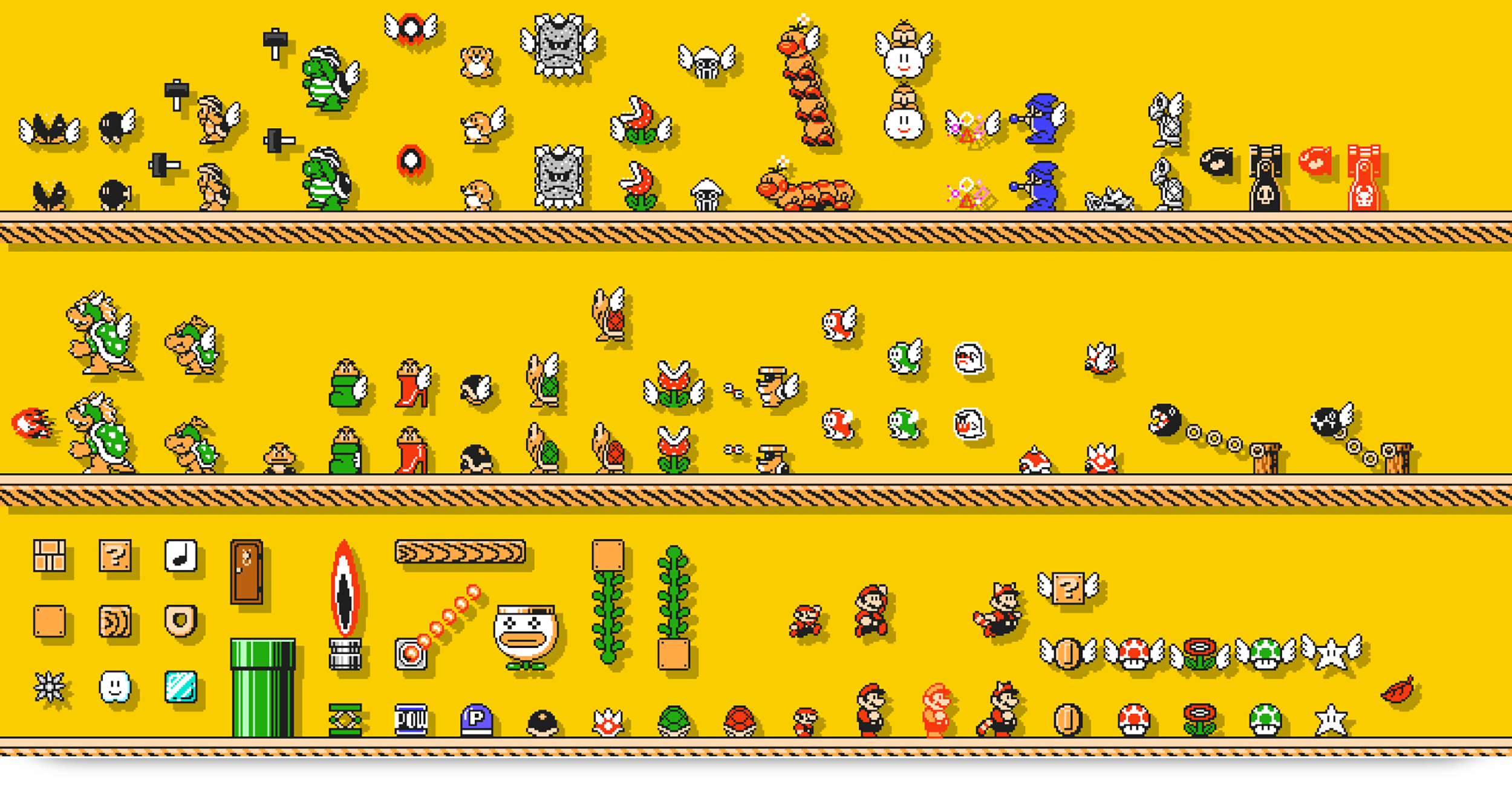 The Top 10 Things That Should be in Super Mario Maker for Switch Koopalings World Map on kano world map, nintendo world map, ventus world map, kirby world map, super mario galaxy world map, mushroom world map, dracula world map, shadow the hedgehog world map, super mario kart world map, raphael world map, sly cooper world map,