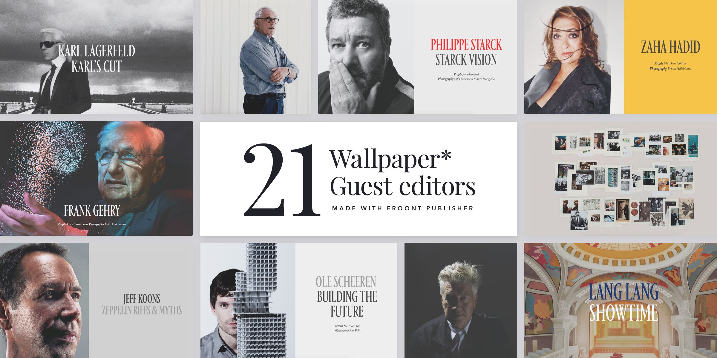 Case Study Wallpaper Magazine Creates Its Largest Ever