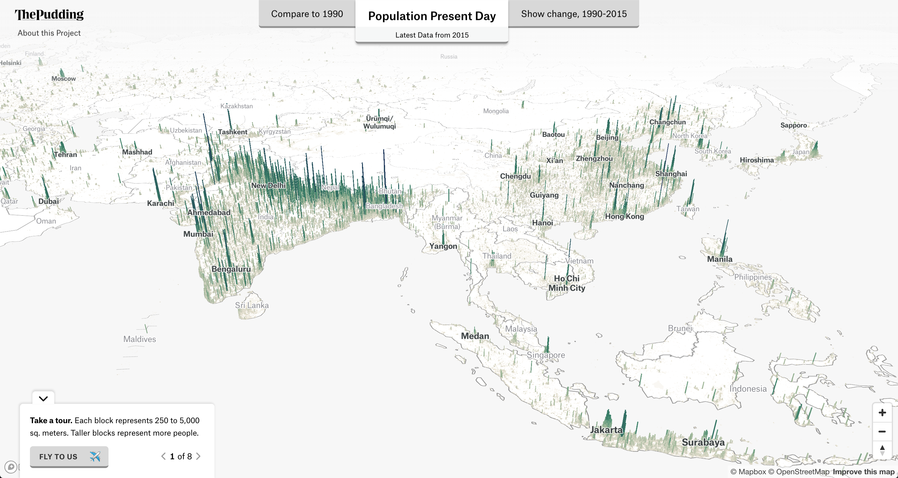 3D mapping global population density: How I built it