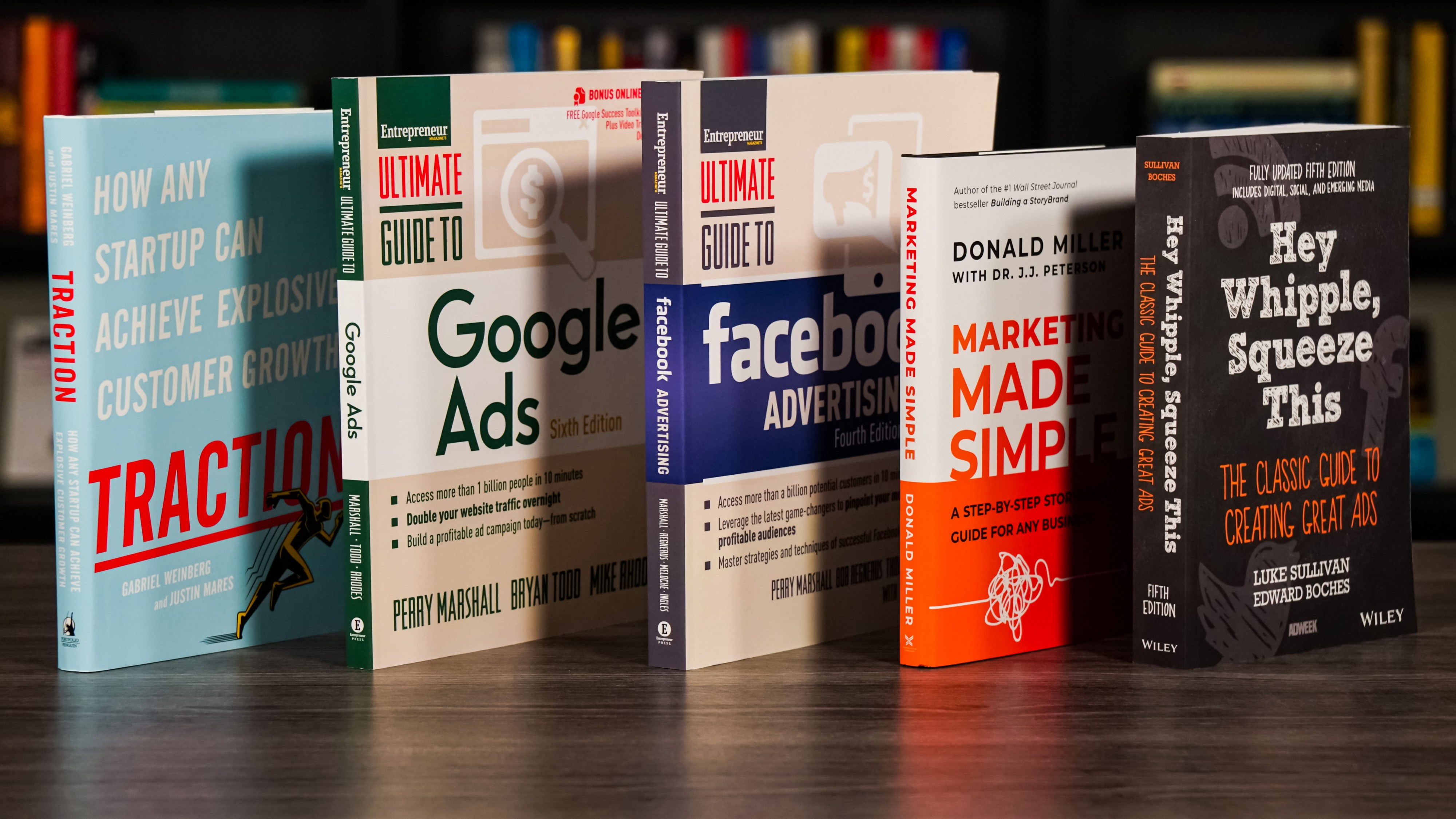 Five of the best advertising books for startups