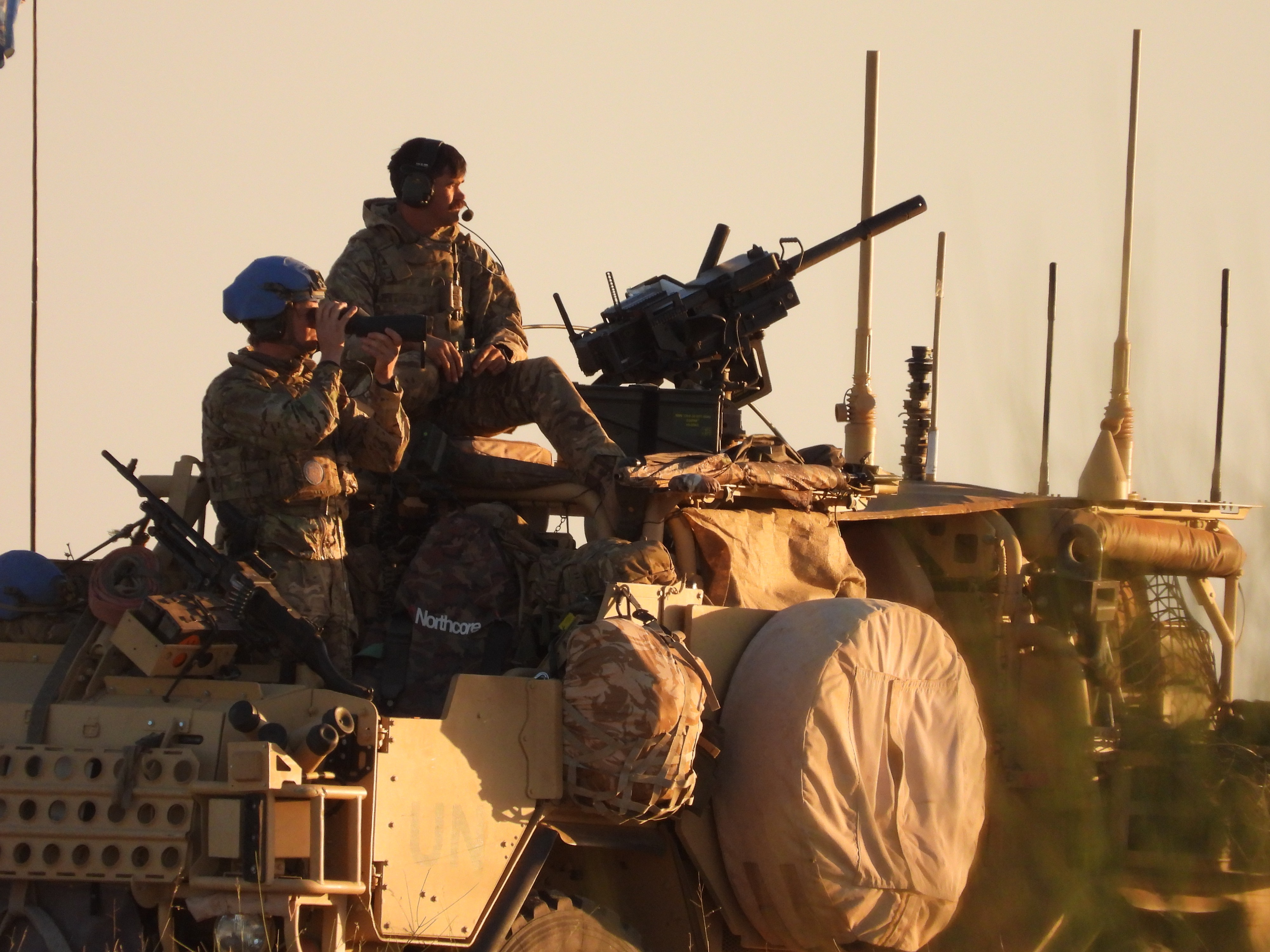 An image taken from Operation NEWCOMBE, the UN Peacekeeping Mission in Mali.