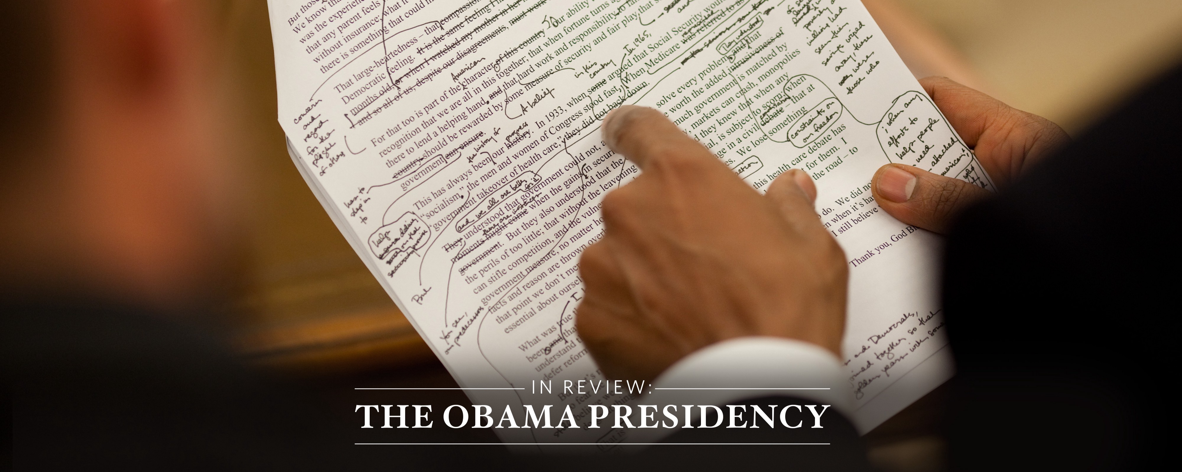 In Review: President Obama's Top Speeches as Chosen by His Speechwriters