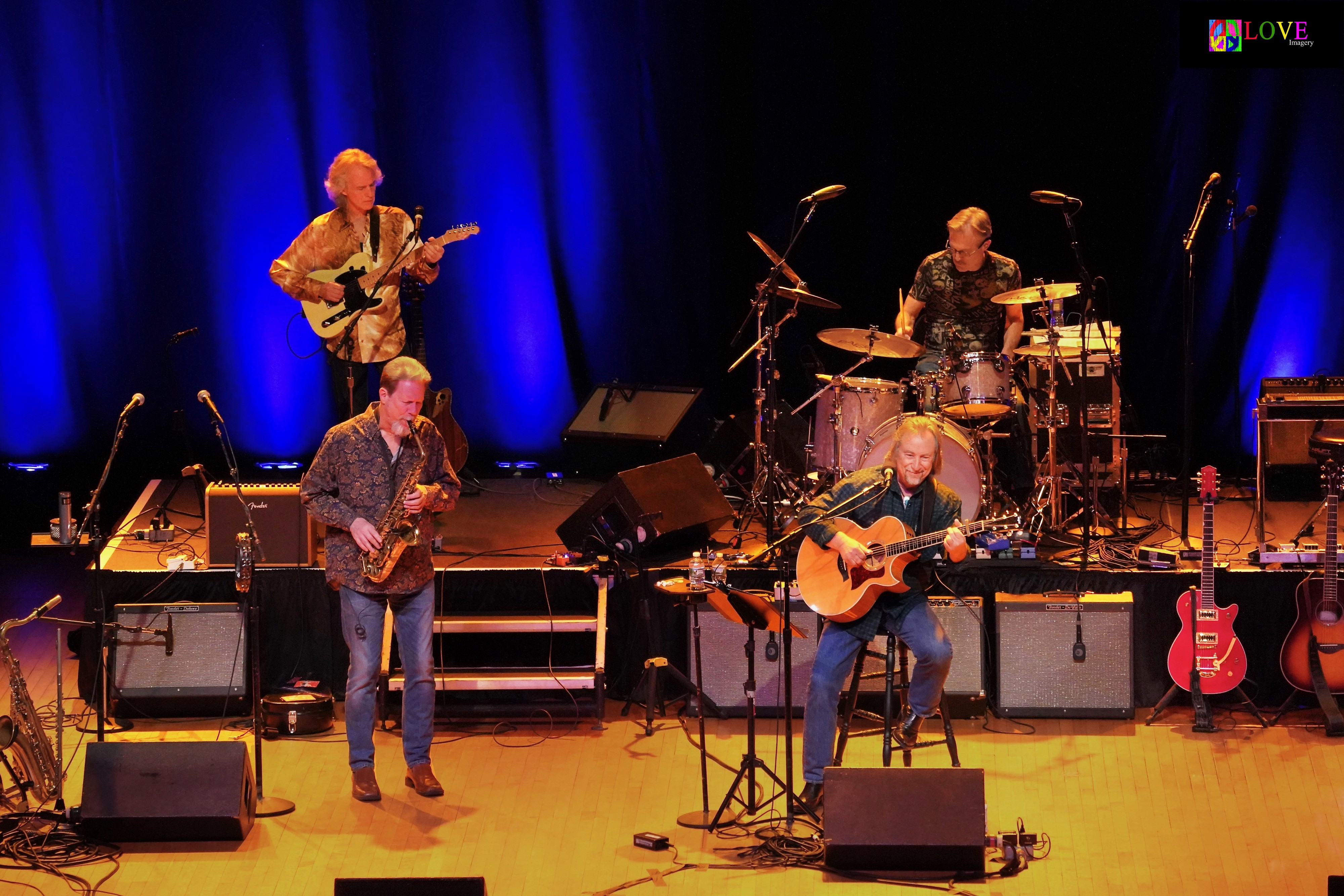 """All Fired Up!"""" Jim Messina and Poco LIVE! at the Scottish Rite"""