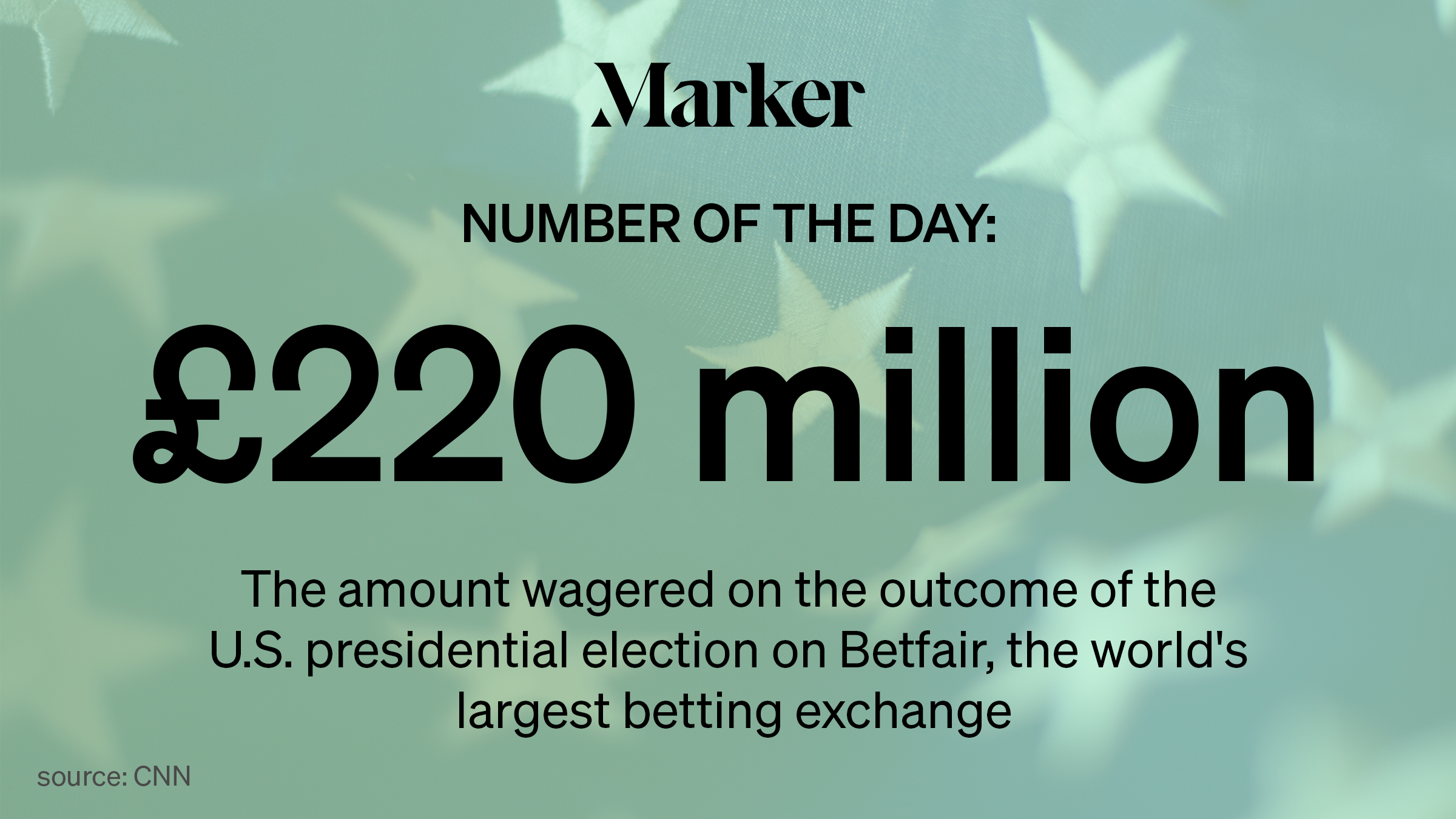 Bet on outcome of presidential election 1324 betting system for roulette