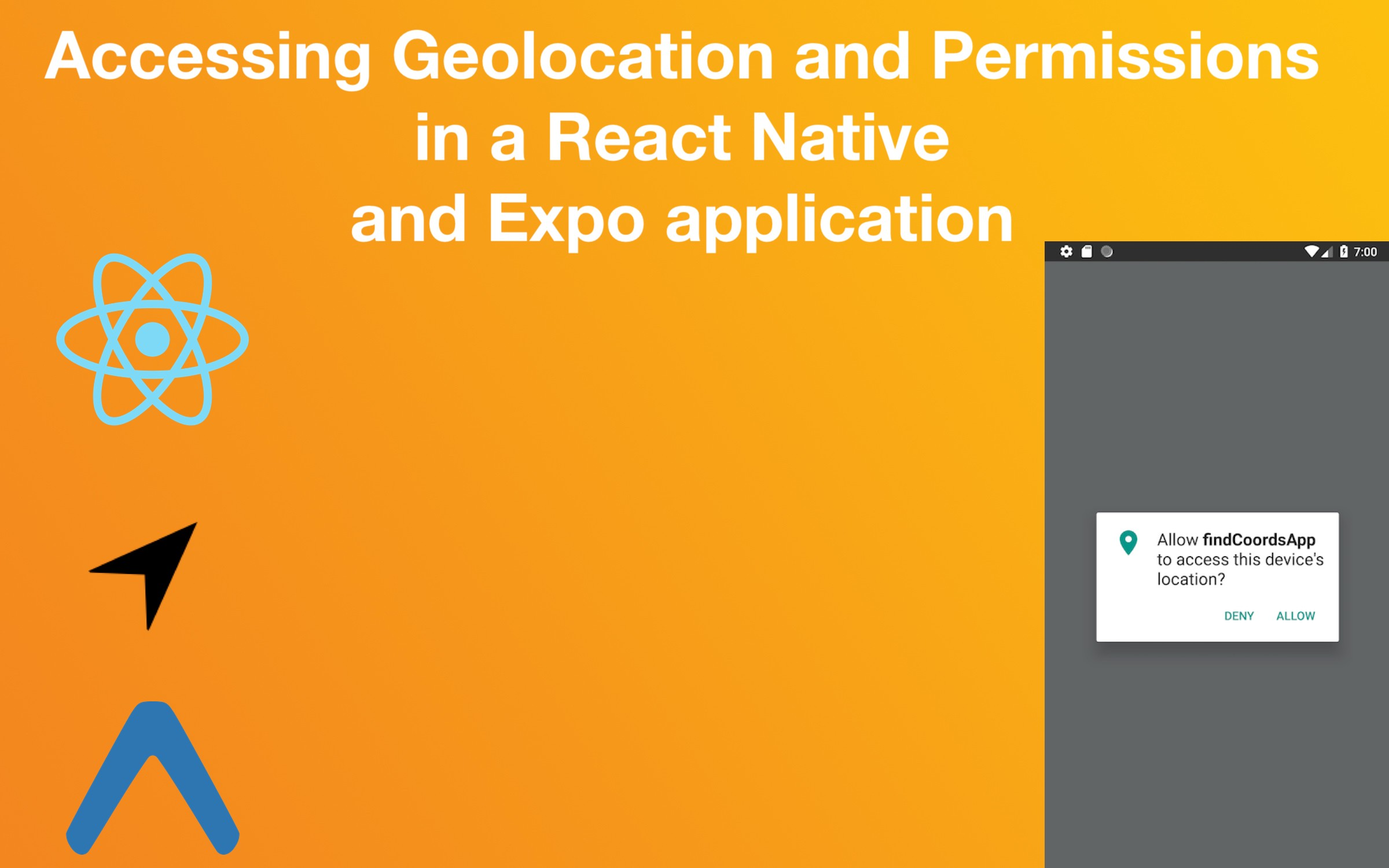 Accessing Geo-location and App Permissions in React Native