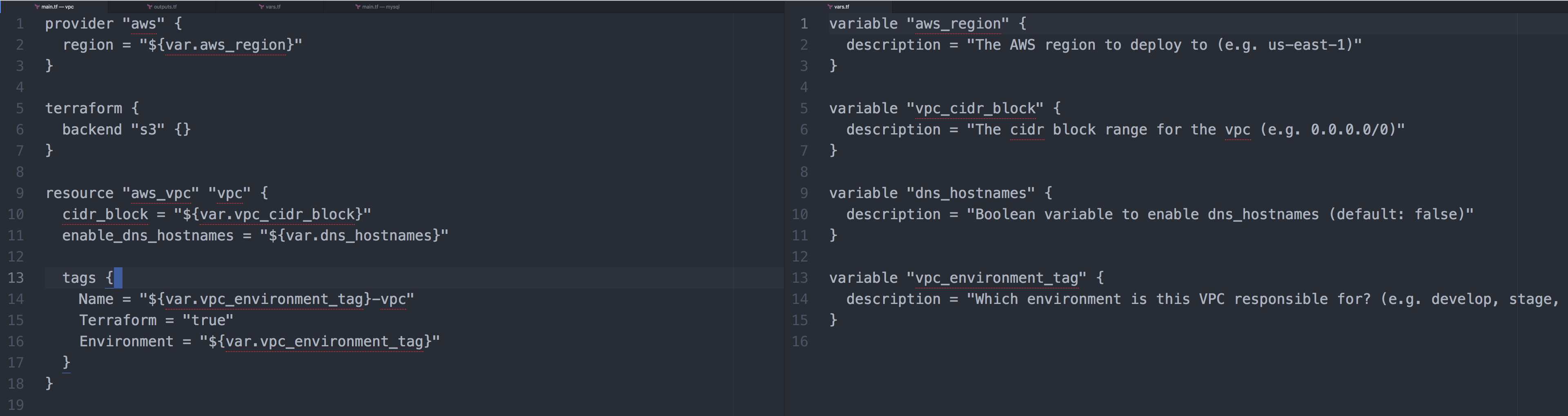 Terraform Module Count Variables Are Only Valid Within Resources