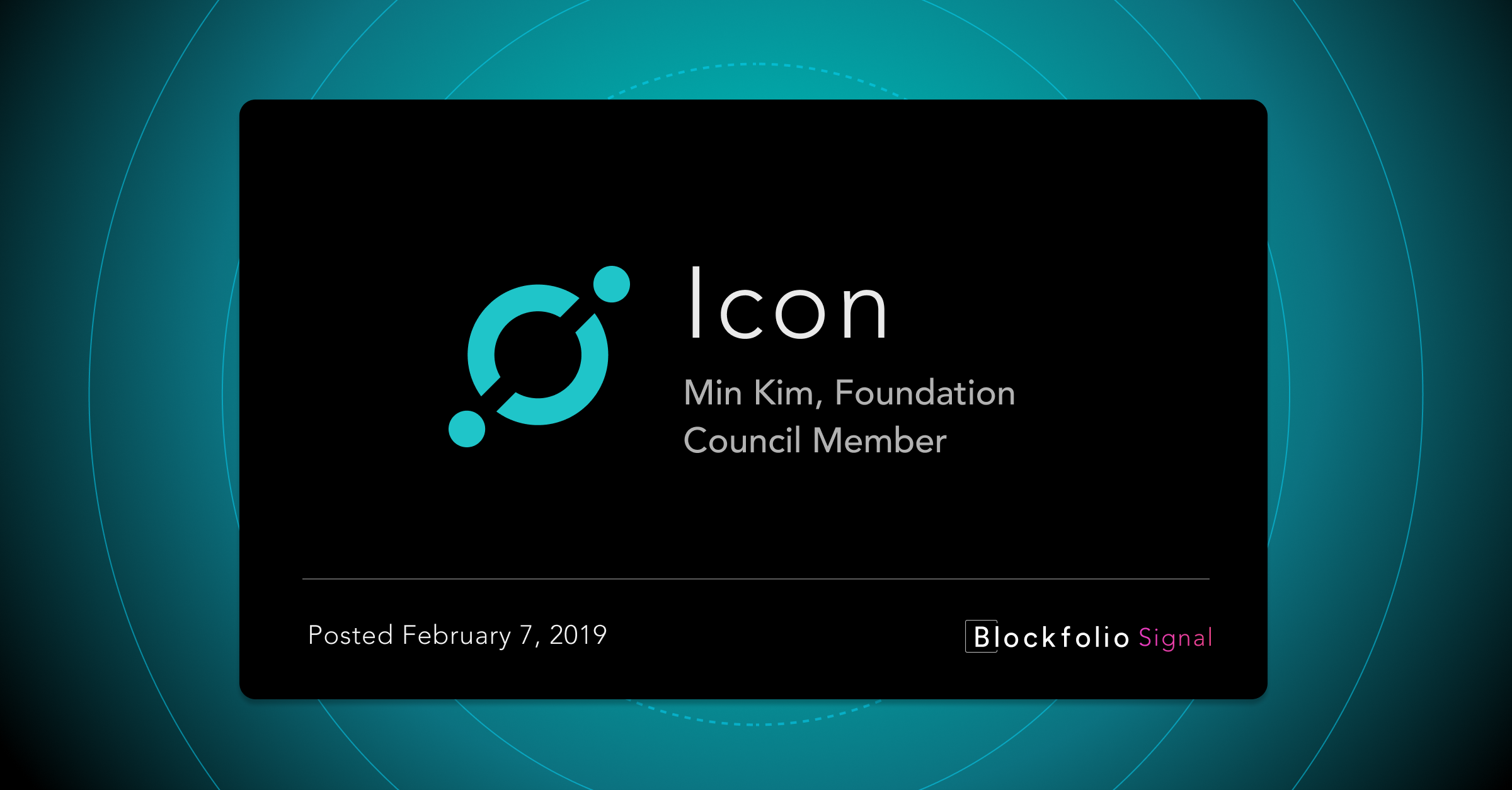 This week in Blockfolio Signal — February 15th, 2019