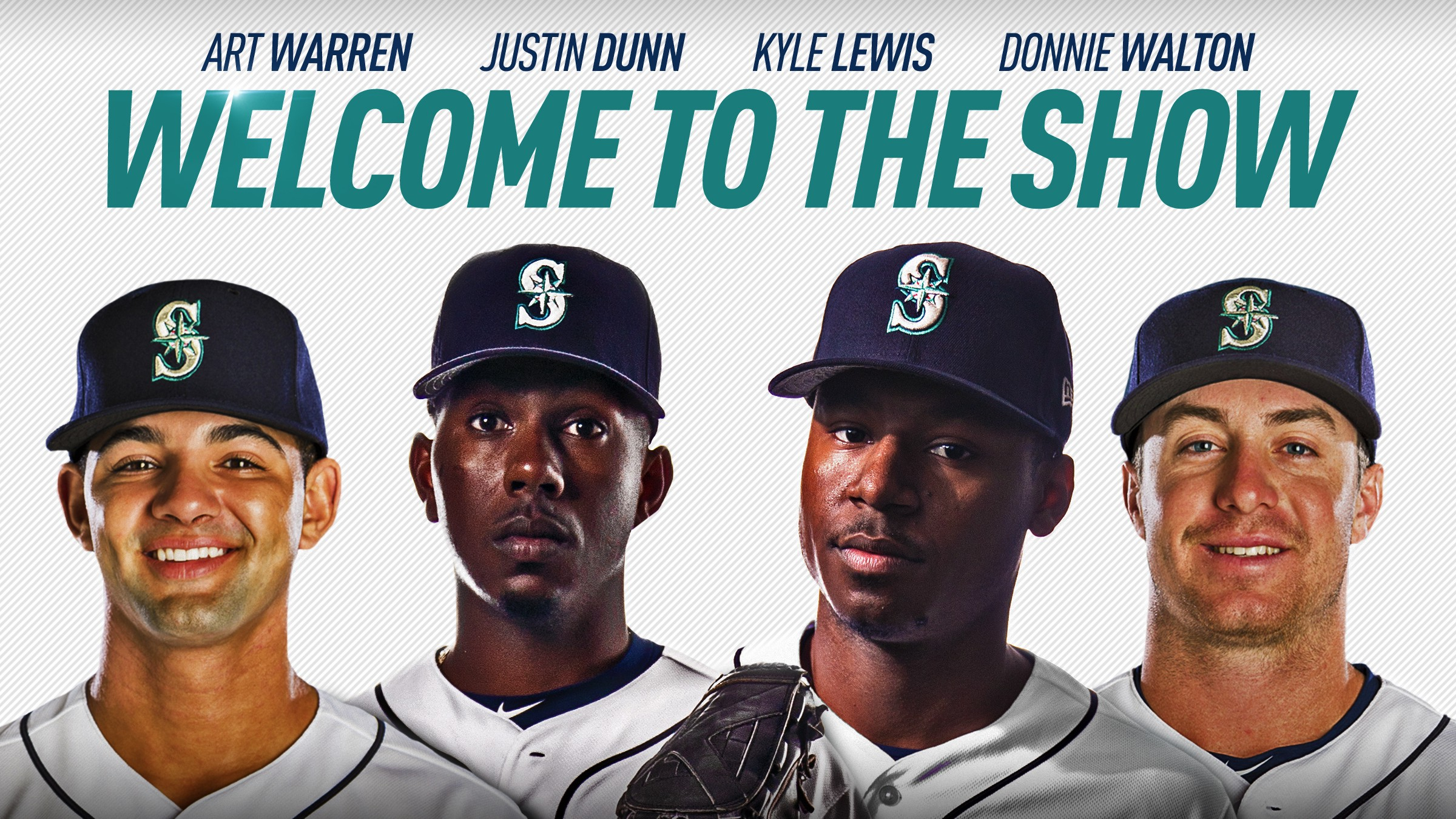 Mariners Select Justin Dunn, Kyle Lewis, Donnie Walton and