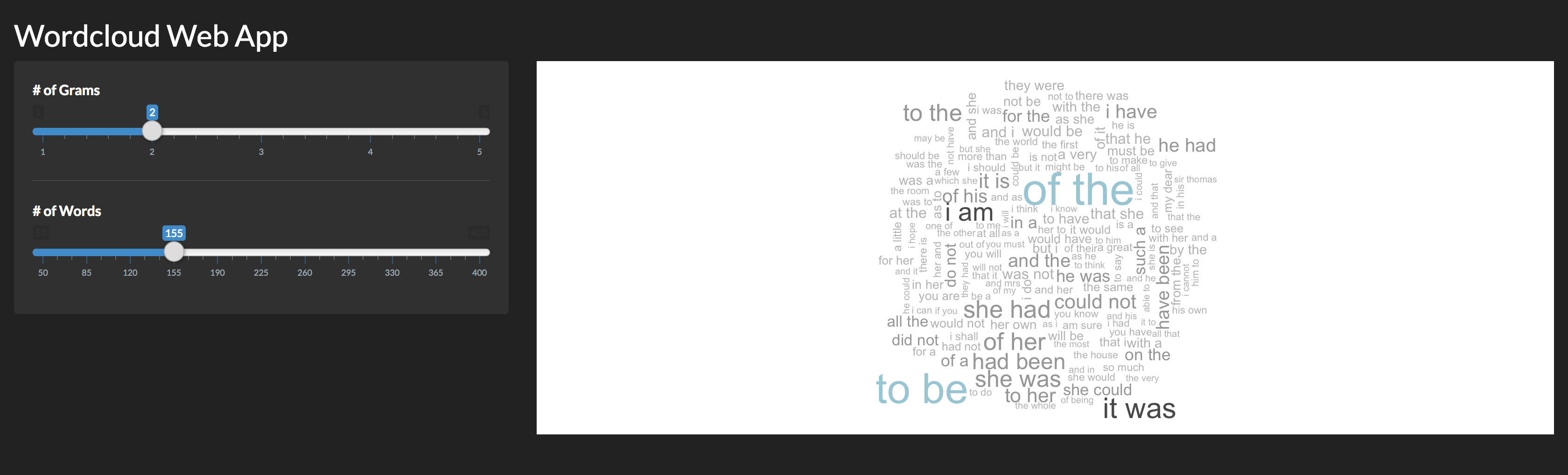 Wordcloud Web App In 40 Lines of R - Towards Data Science