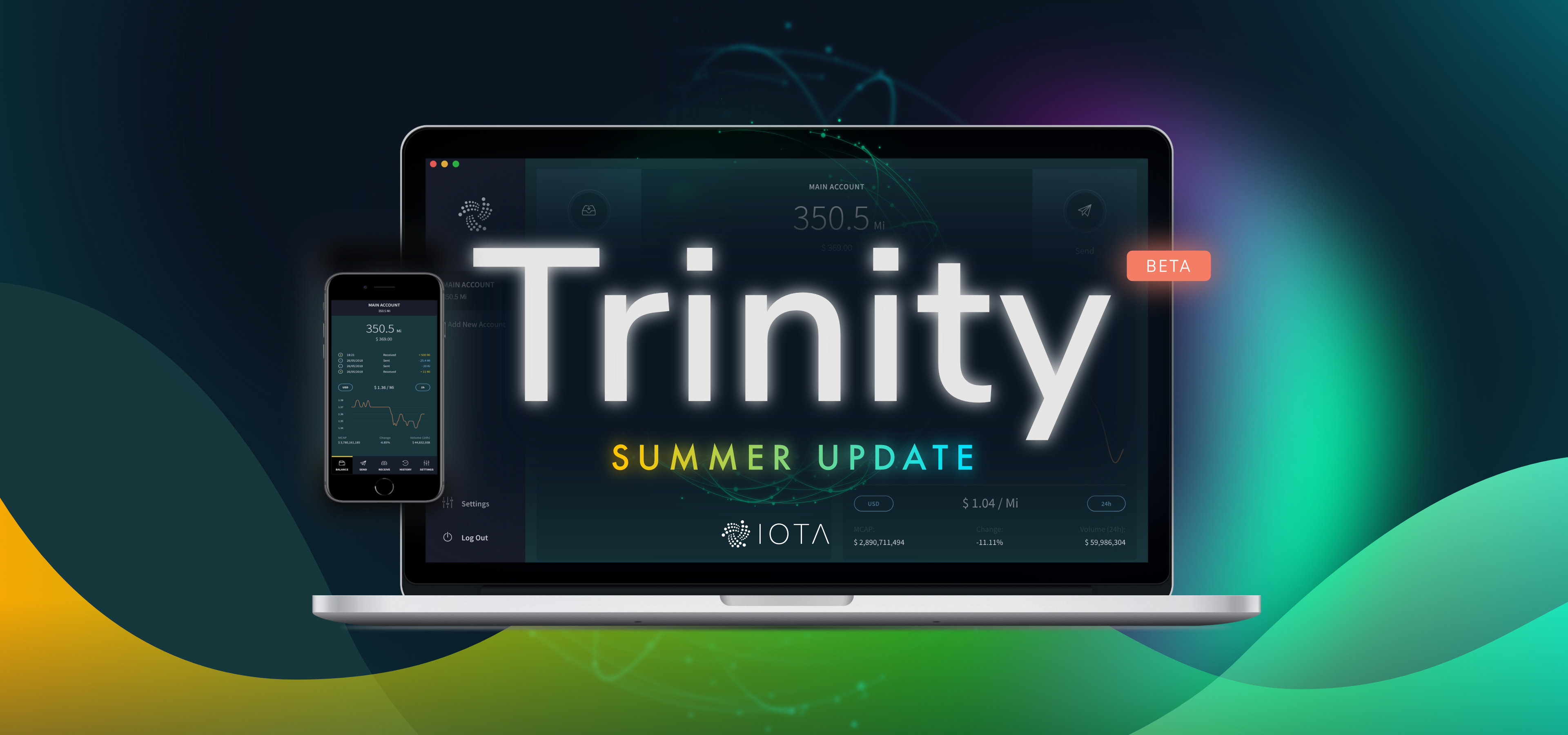 Trinity wallet — Summer update - IOTA