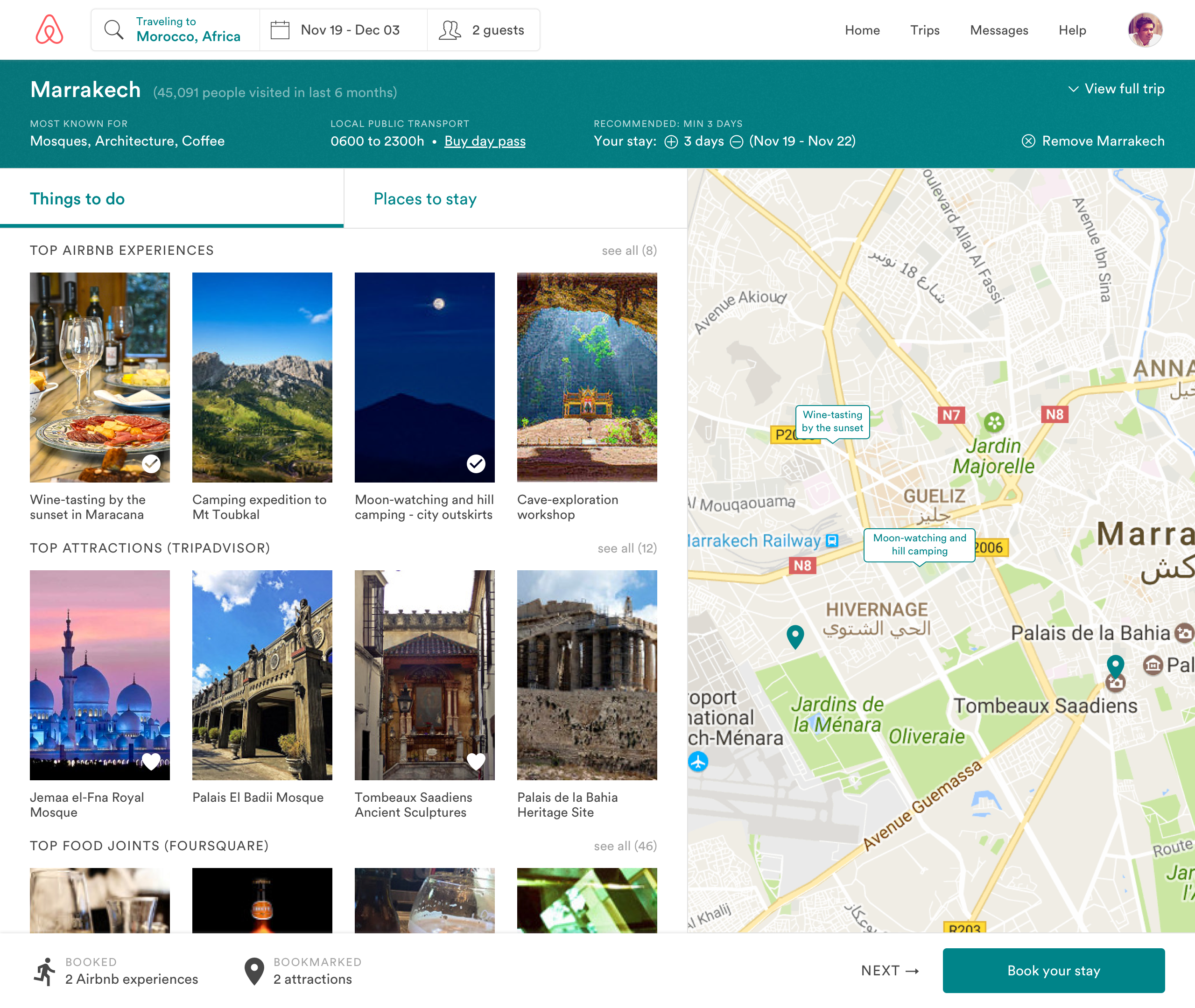 Airbnb Vacation — Seamless Trip Planning Done Right