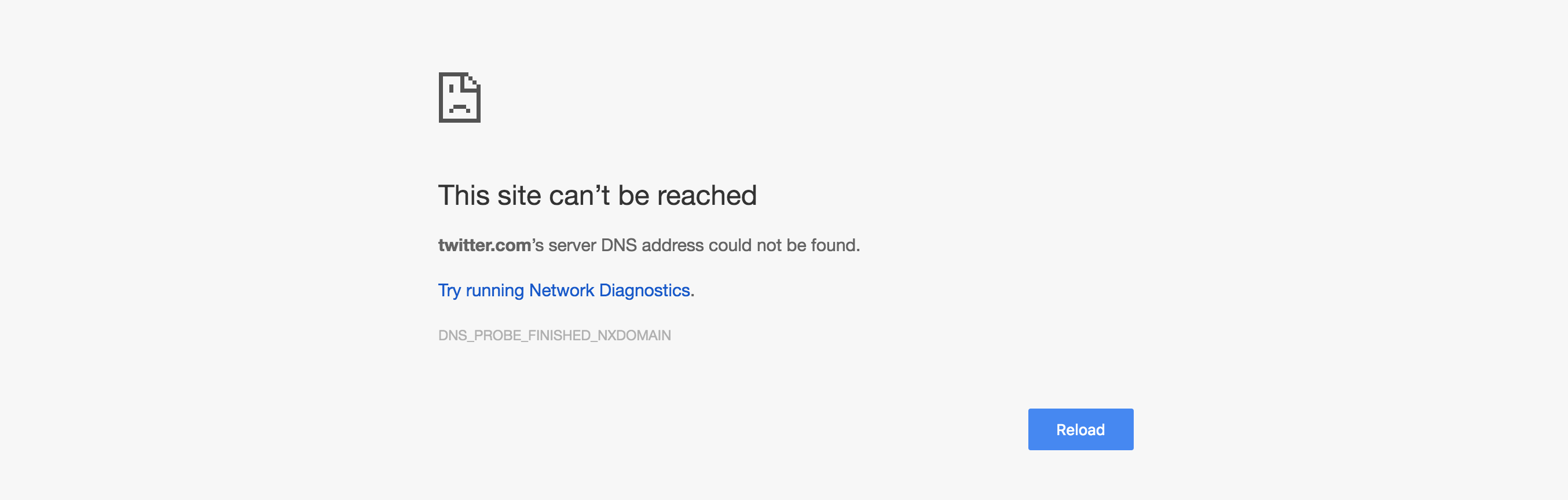 Today's Dyn DDoS attack: you wanted a world without Twitter