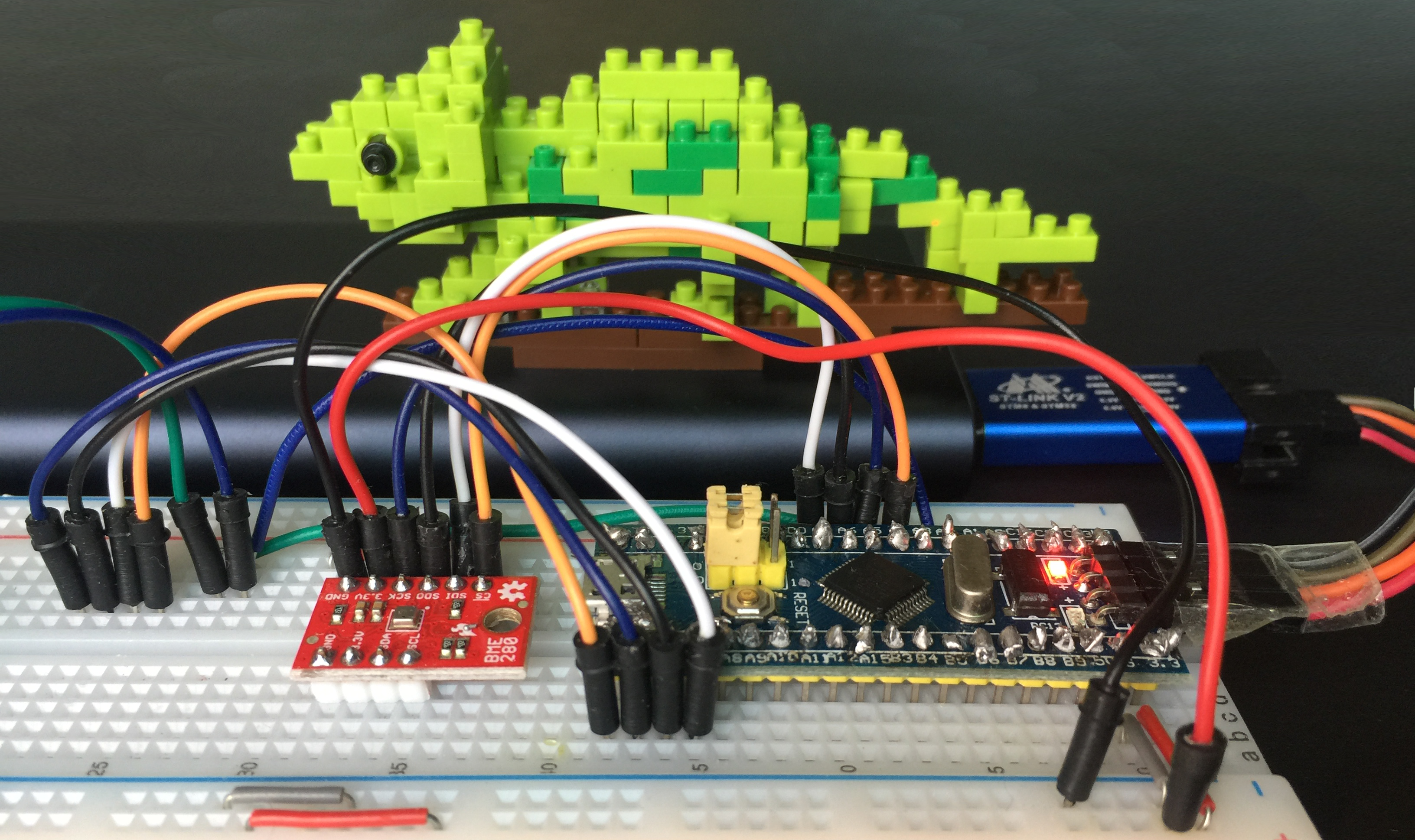 Create your IoT gadget with Apache Mynewt and STM32 Blue Pill