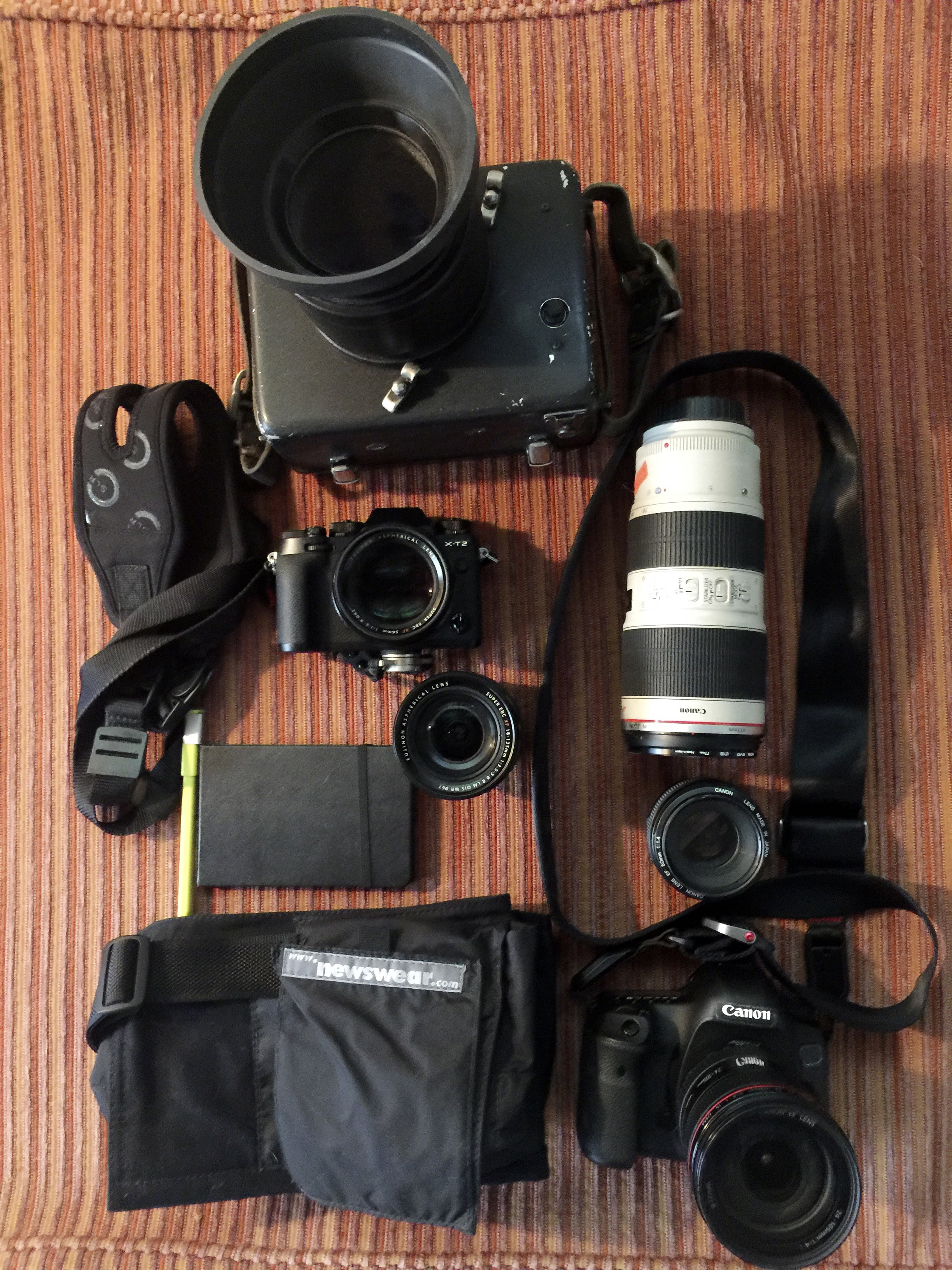 What's in your bag? VII photographers show us their gear