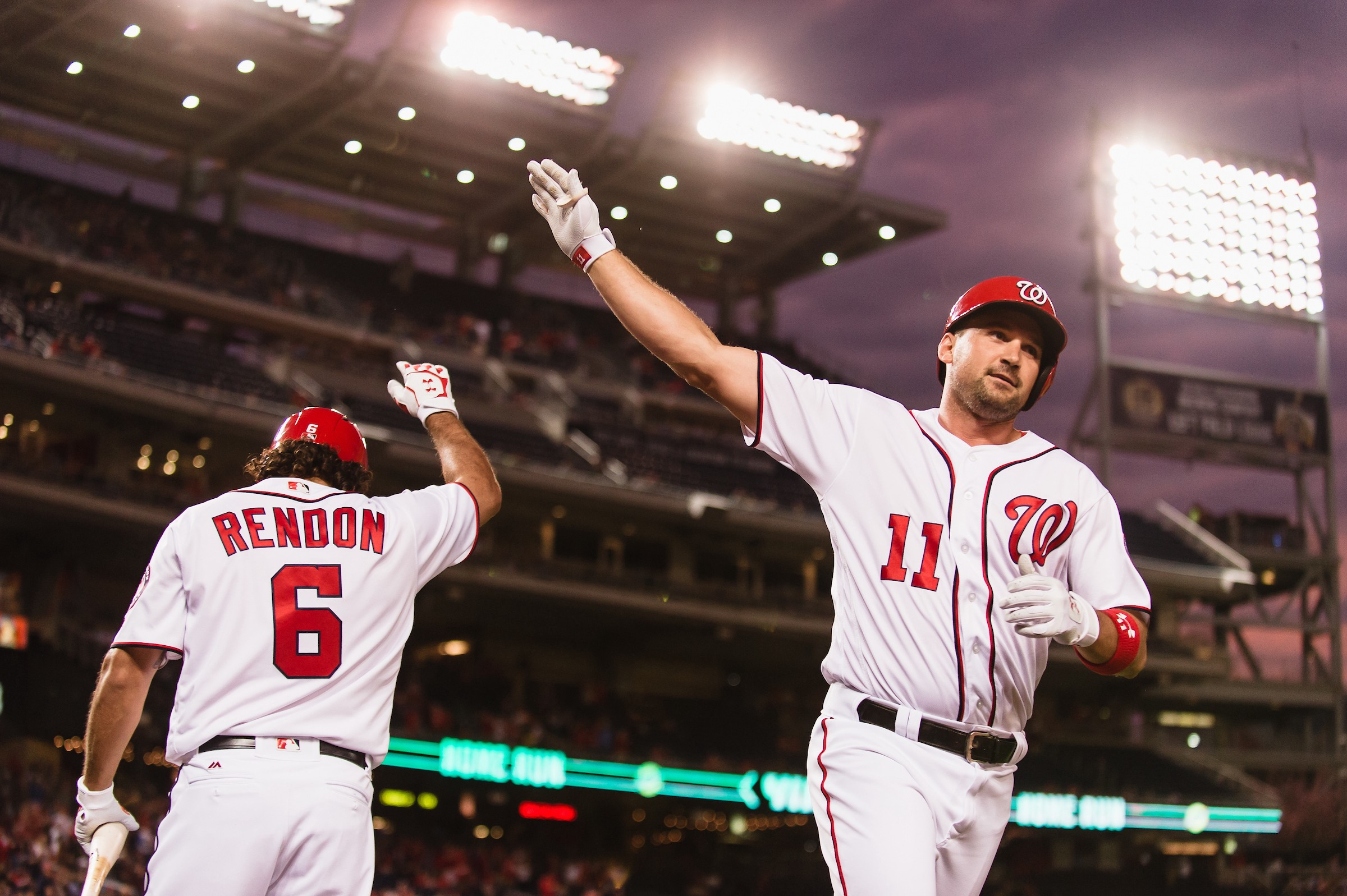 Ryan Zimmerman And Nats Take On Braves Curly W Live