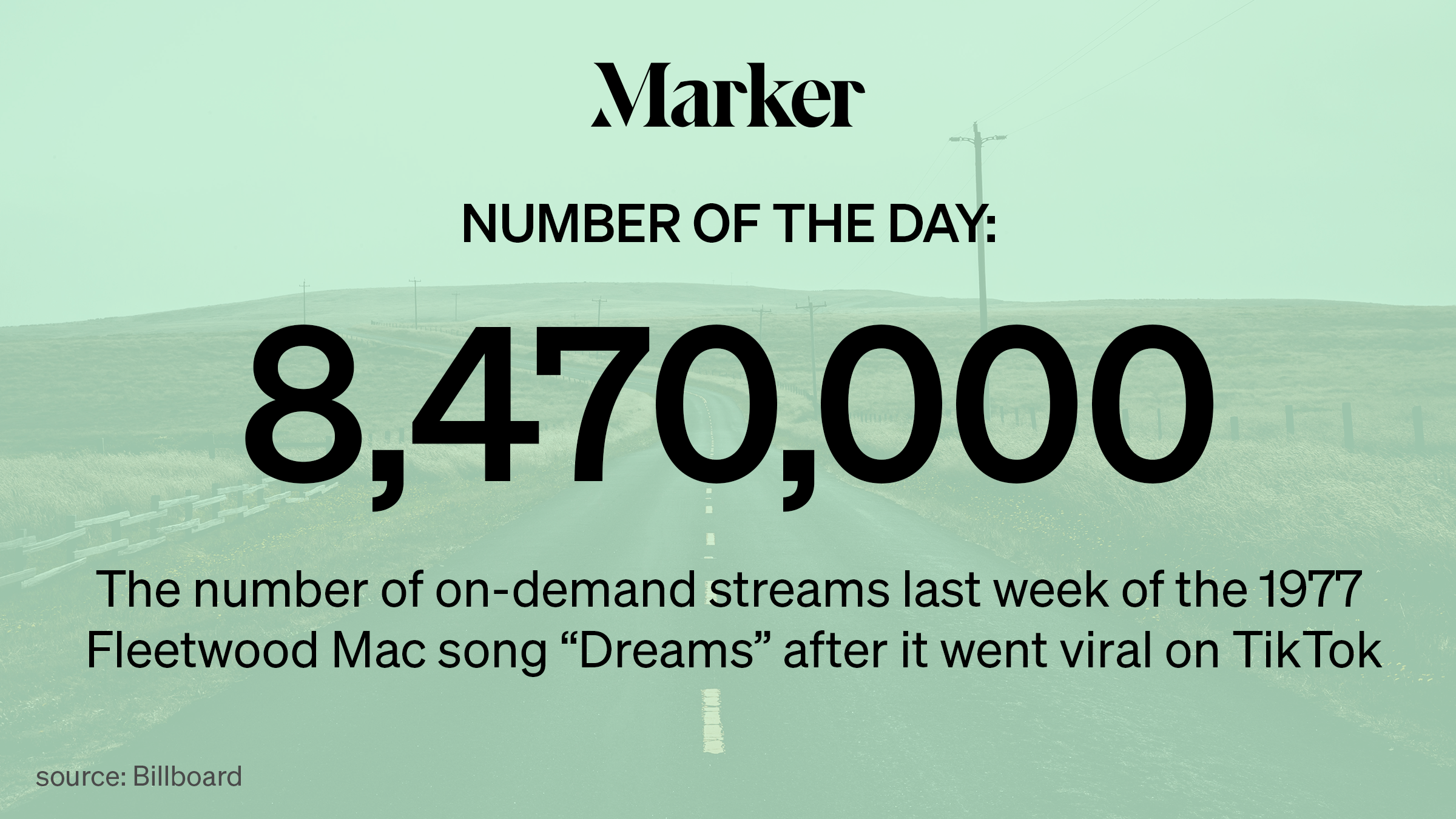 Fleetwood Mac S Dreams Hits Number 1 On The Itunes Charts Thanks To A Viral Tiktok Marker