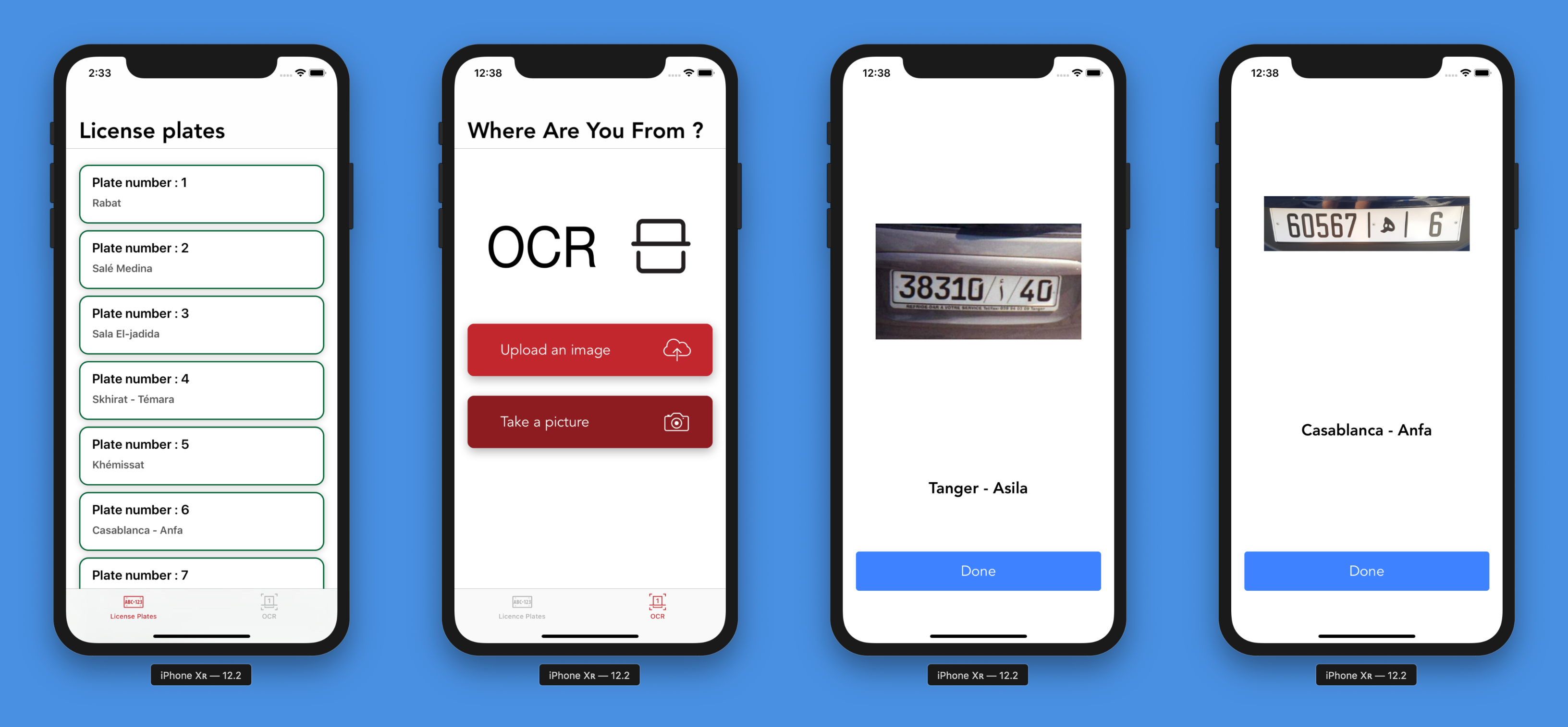 Creating a License Plate Reading iOS Application Using OCR