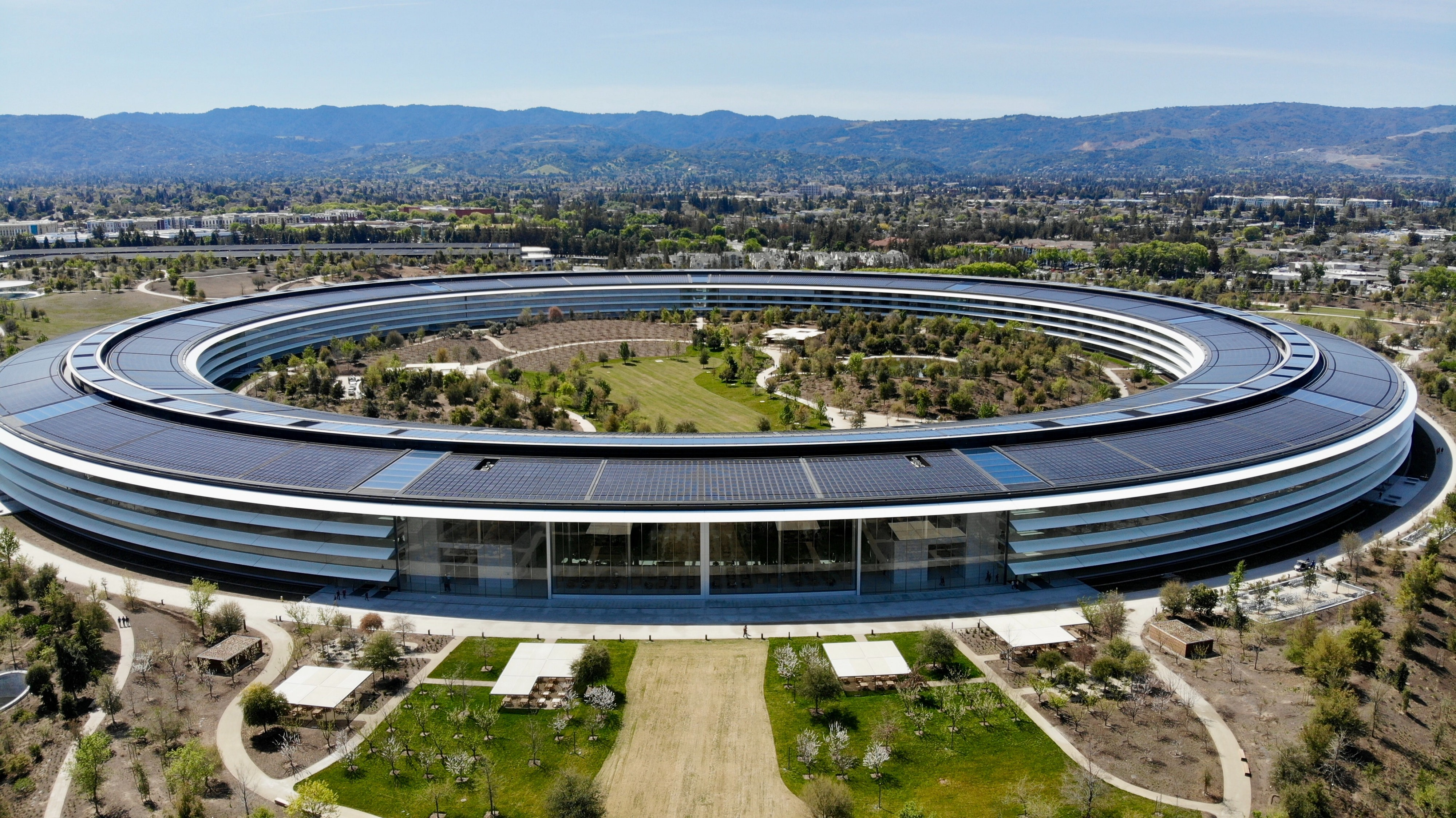 Apple Park in Silicon Valley
