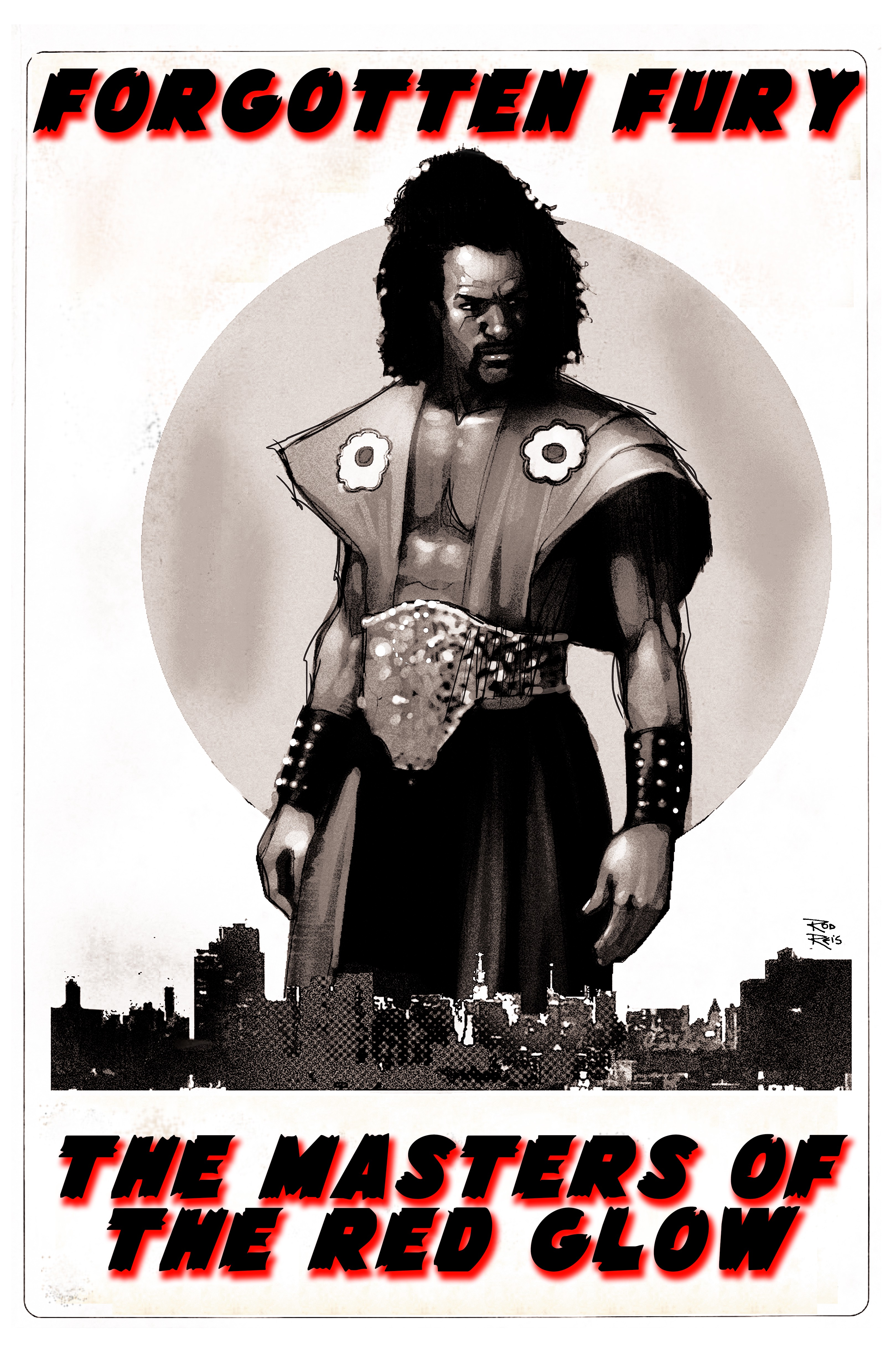 The Origins of Sho'Nuff (Forgotten Fury: The Masters of The Red Glow)