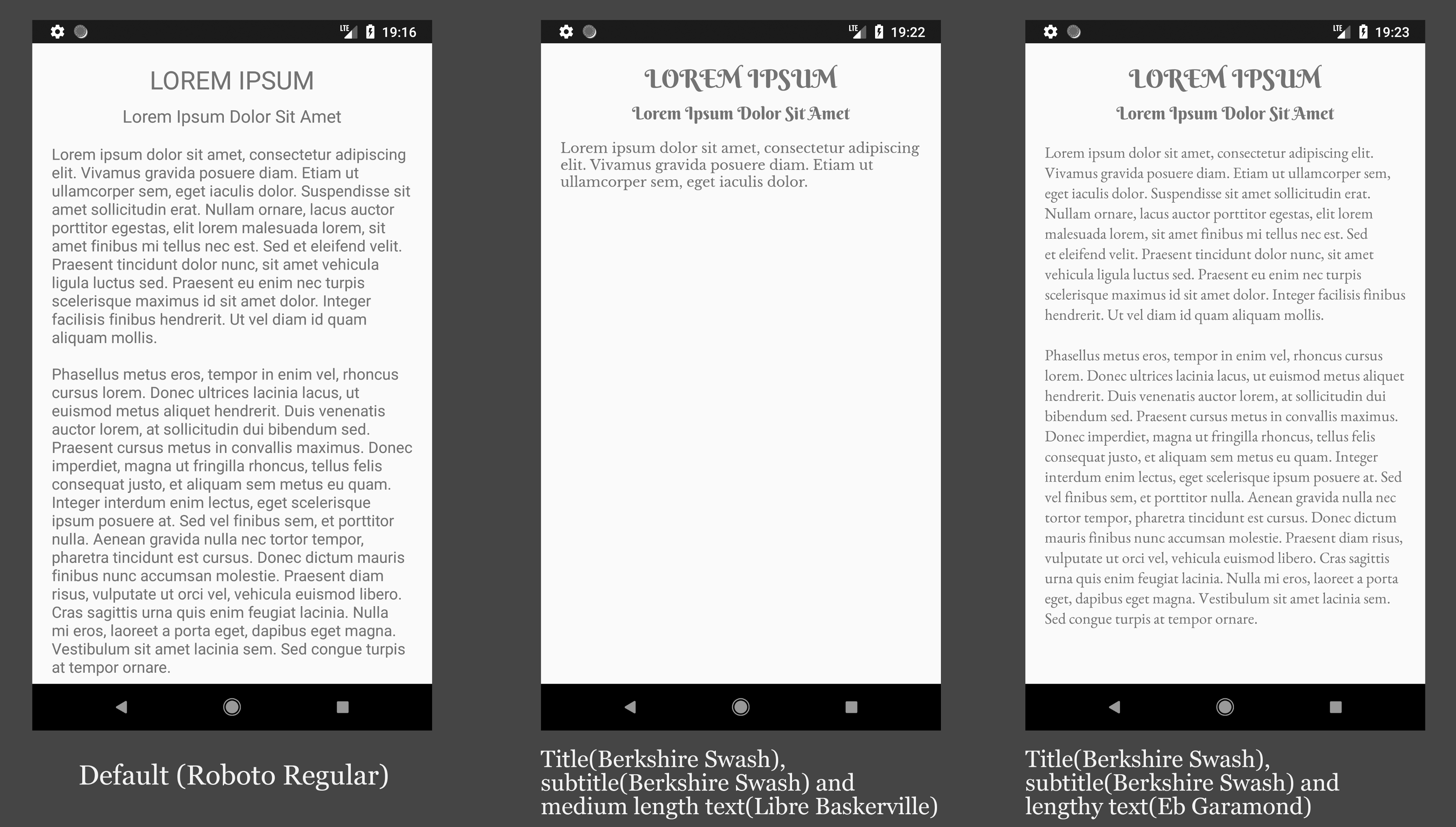Building Android Text Layouts with the Right Font - Material Design