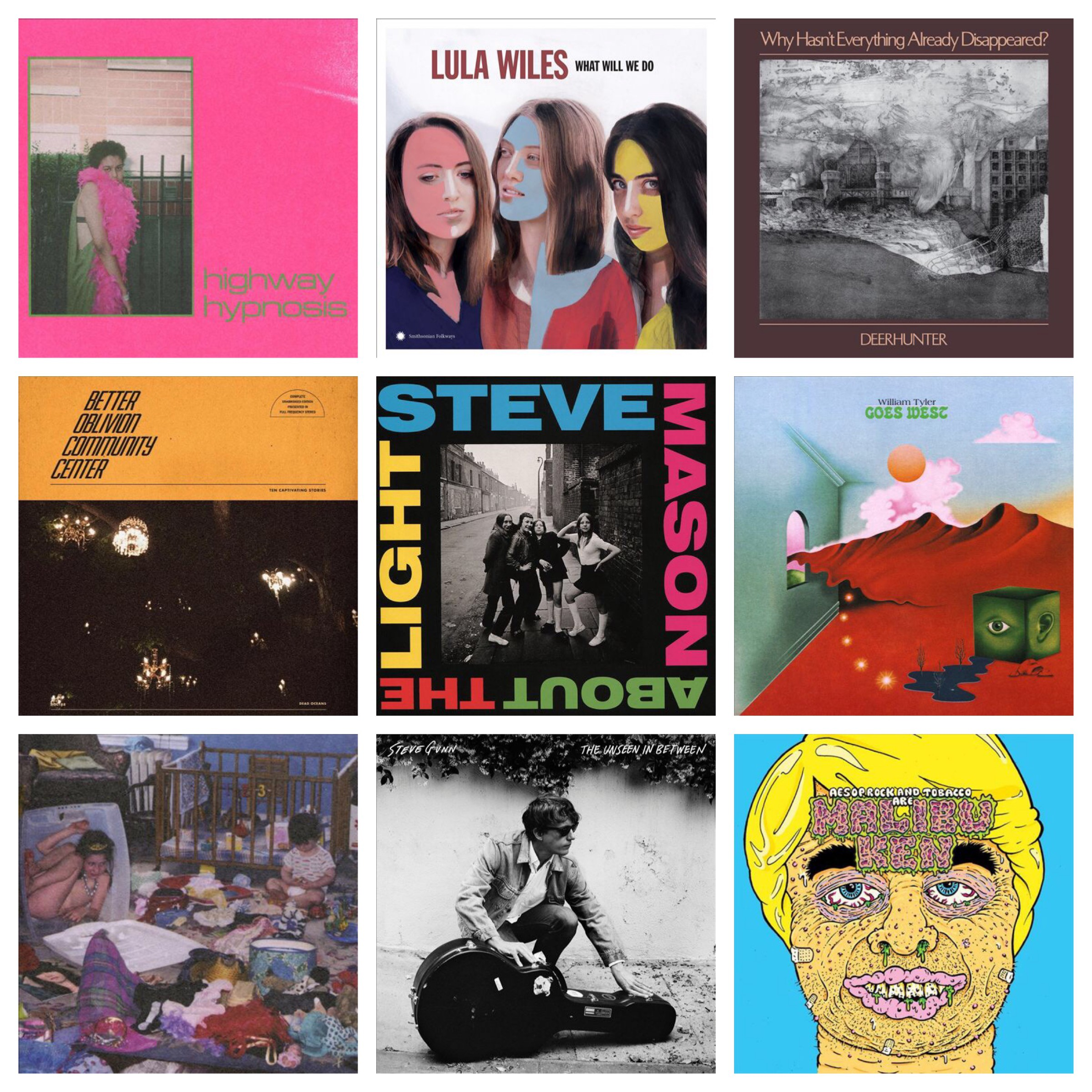 Music Suitcase: Favorite Albums from January 2019 - Stefan