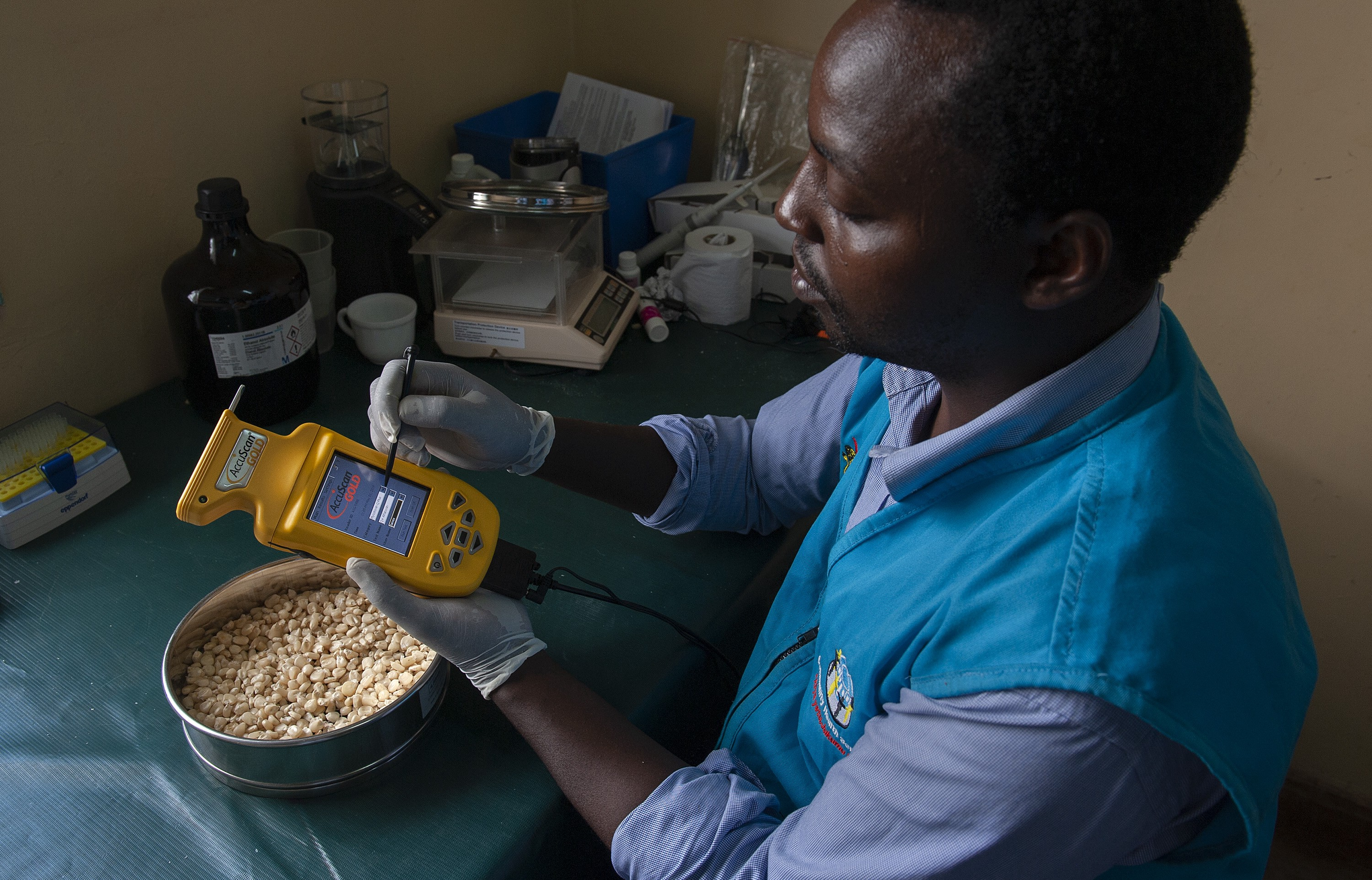 Meeting demand in Kenya for food safety and quality control