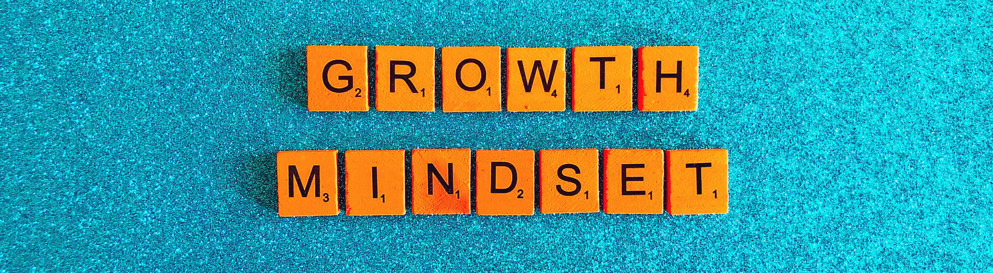 Image showing letters: Growth Mindset