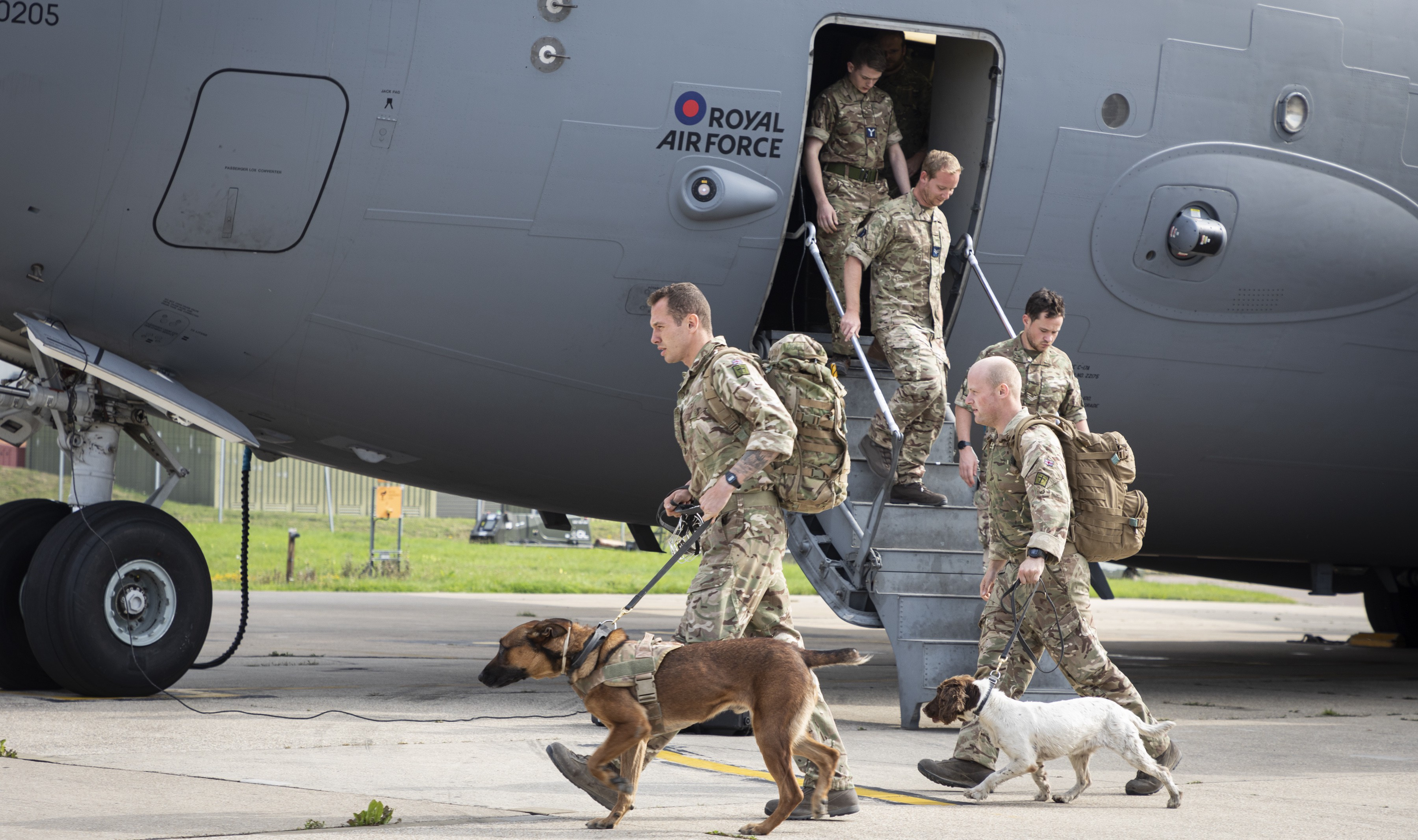 UK troops back from Kabul, Afghanistan