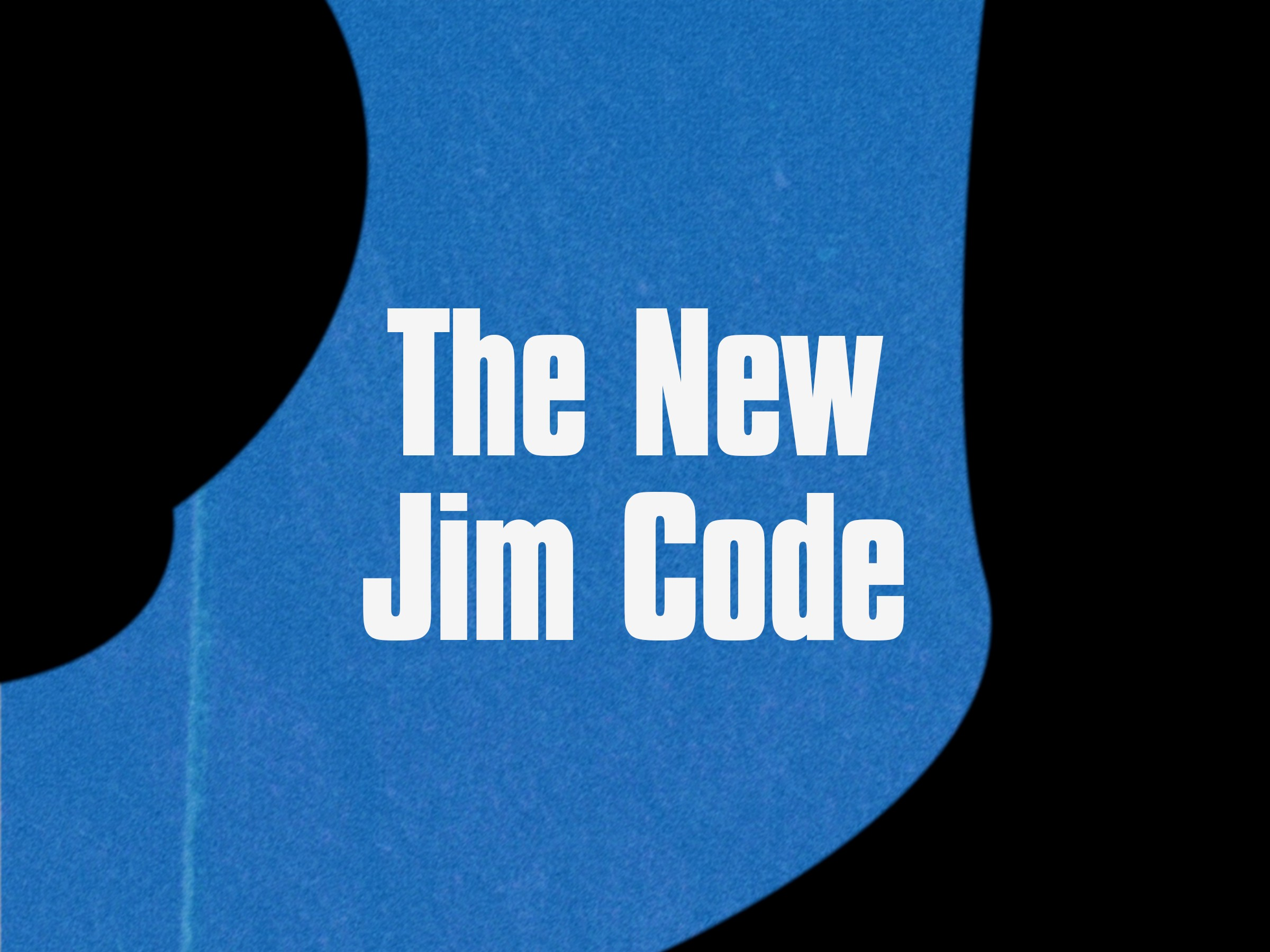 The New Jim Code