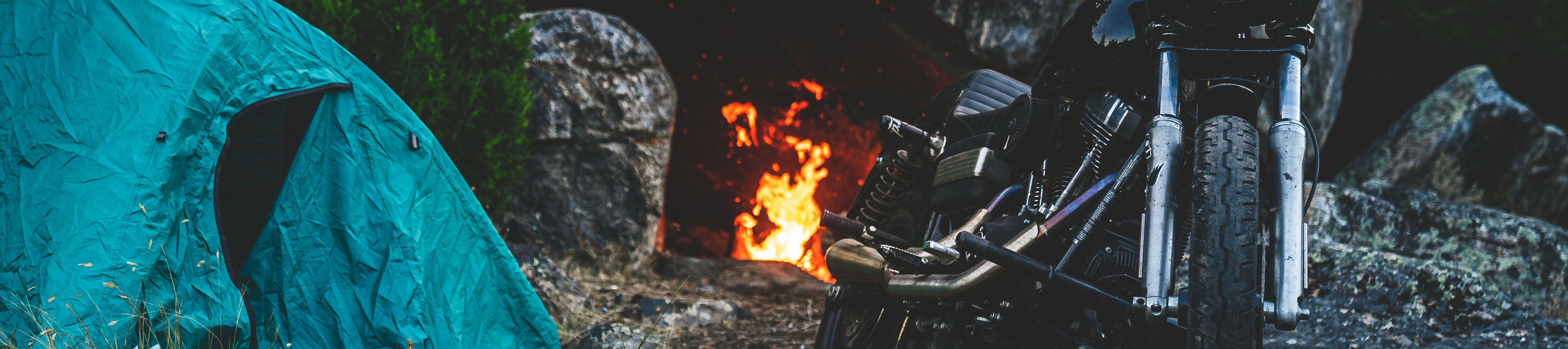 Scents of camping, campfire, and motorcycles could inspire your most adventurous life