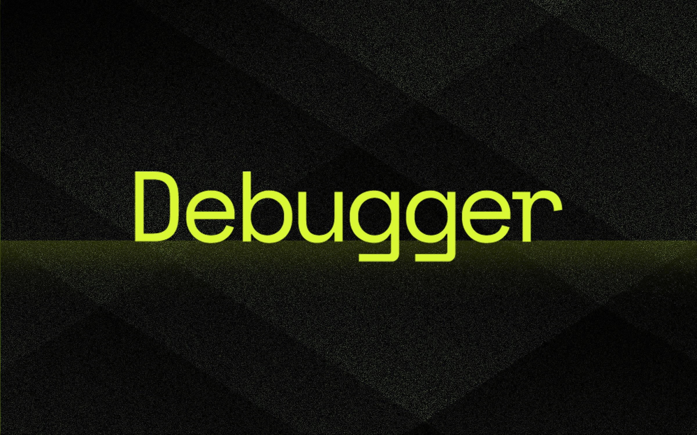 """""""Debugger"""" in text"""