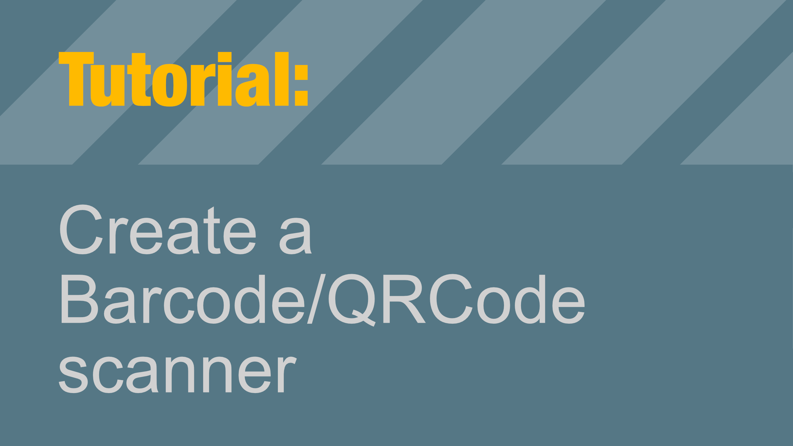 How to read a Barcode or QRCode with Swift — Programming with Swift
