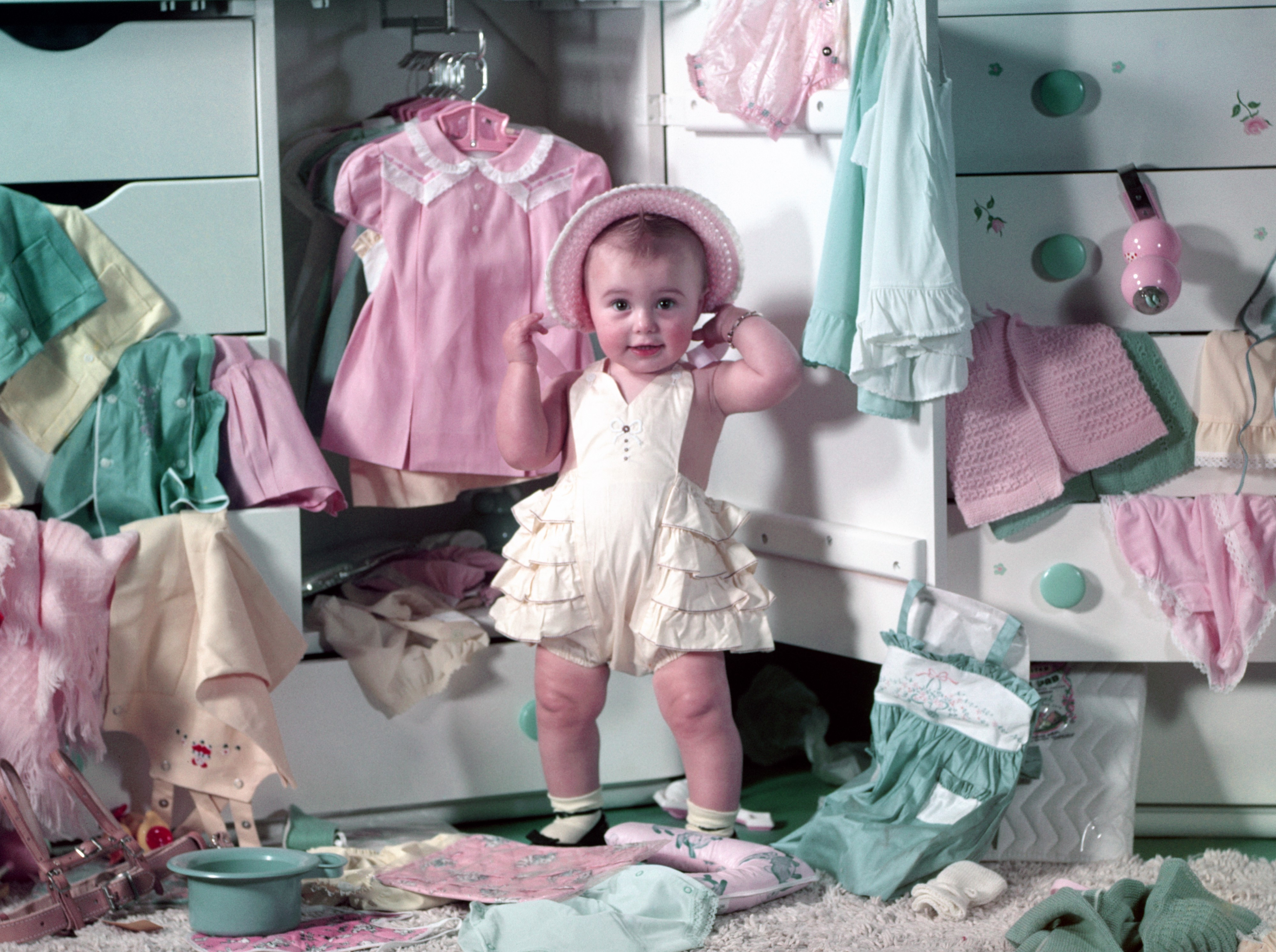26110455bd519 Gender-neutral baby clothes are actually an old-school approach