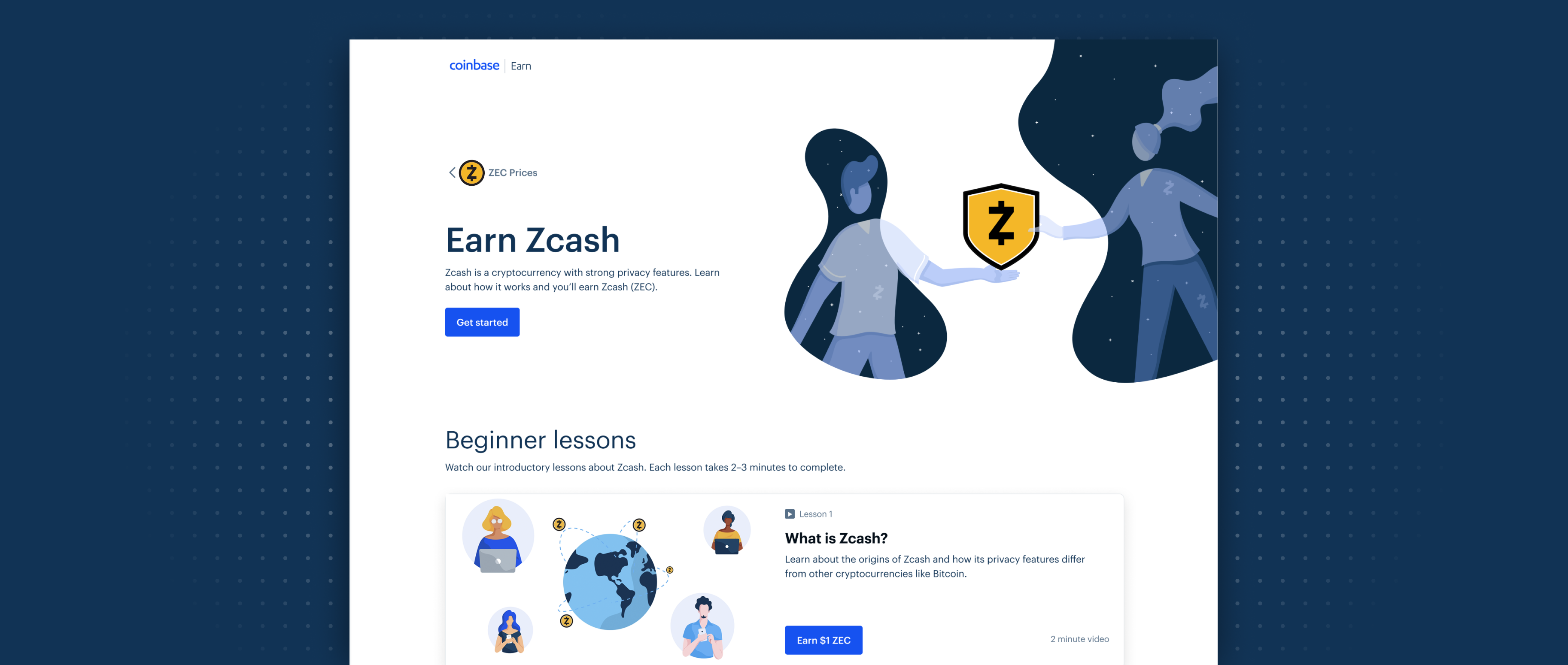 Earn Zcash While Learning About Blockchain Privacy The Coinbase Blog -